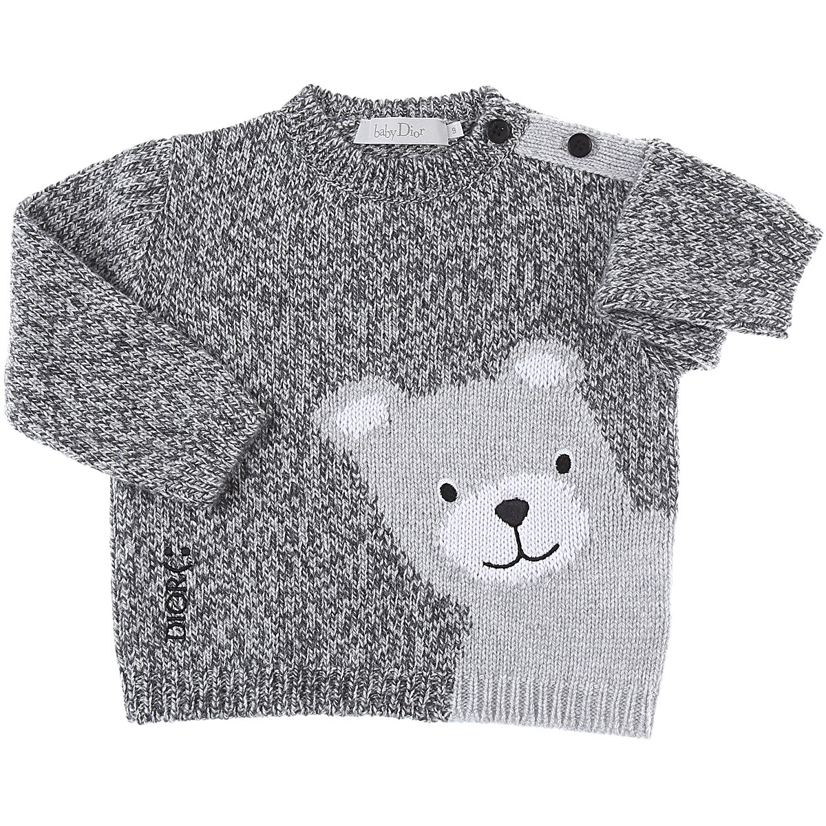 Baby Dior Baby Sweaters for Boys On Sale, Grey, Wool, 2019, 18M 2Y 3Y 9M