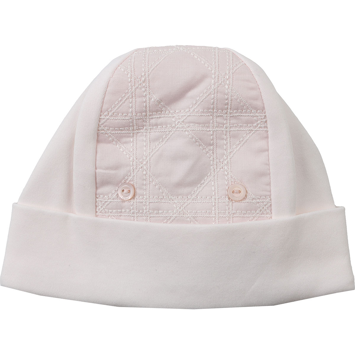 Baby Dior Baby Hats for Girls, Pink, Cotton, 2019