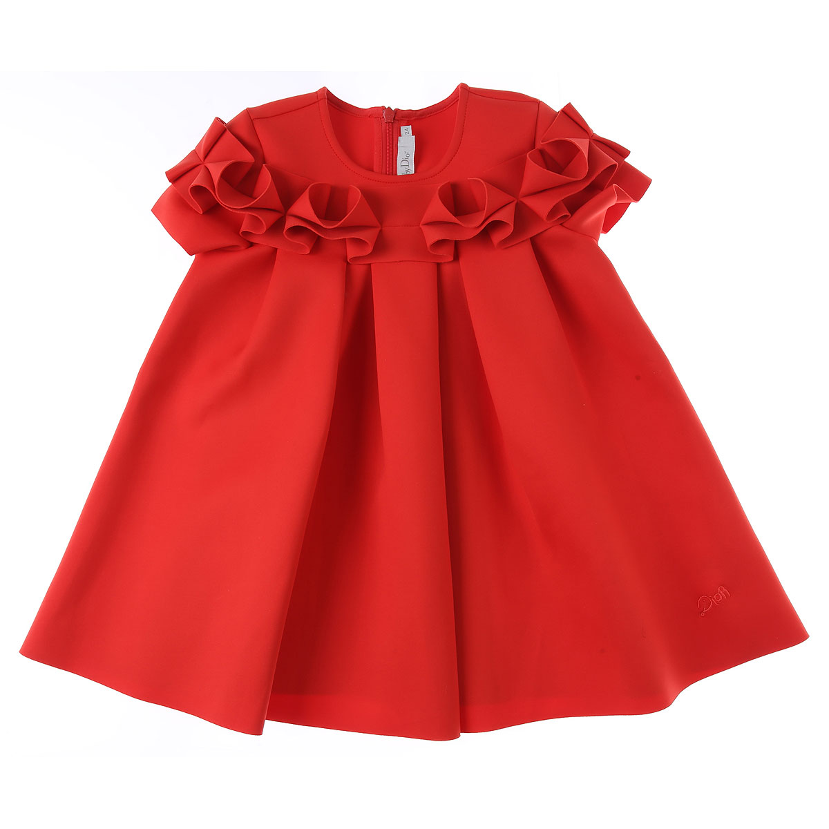 Baby Dior Baby Dress for Girls On Sale, Red, polyamide, 2019, 12M 18M 2Y 3Y