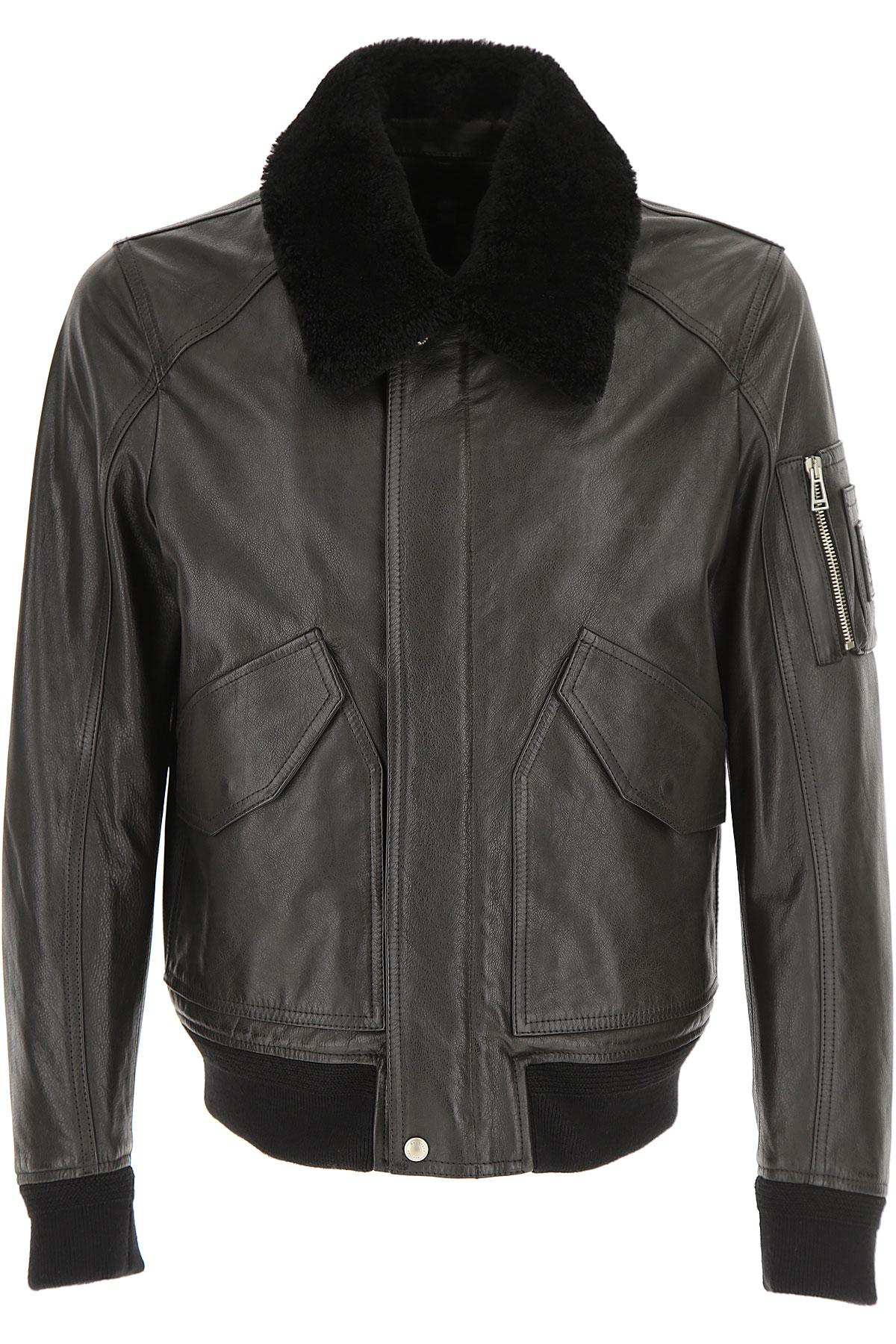 Image of Belstaff Leather Jacket for Men, Black, Leather, 2017, L M XL XXL