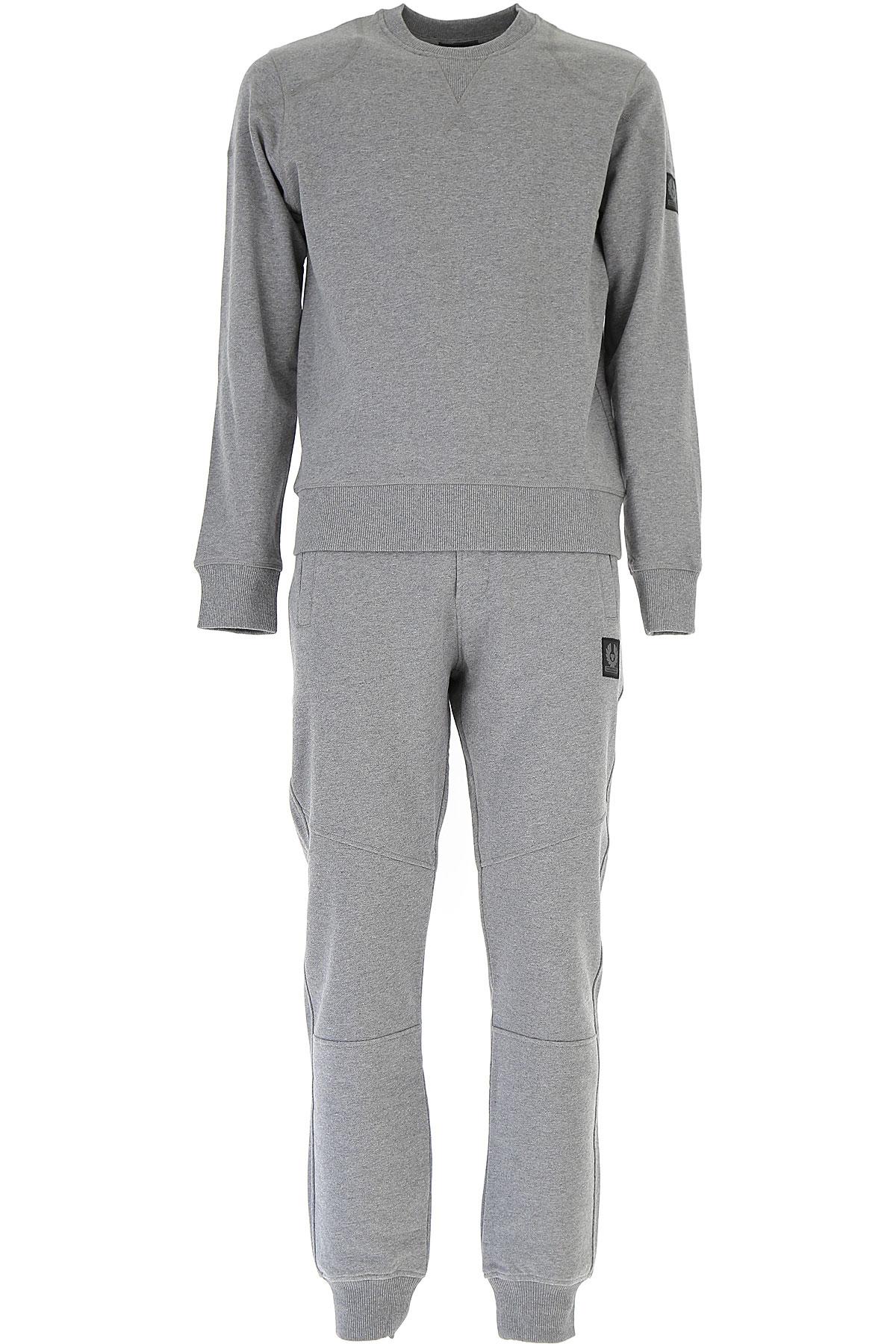 Image of Belstaff Sweatpants, Grey, Cotton, 2017, L M S XL