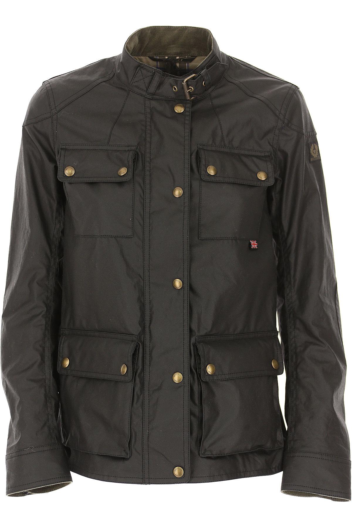 Image of Belstaff Jacket for Women, Black, polyester, 2017, 2 4 6