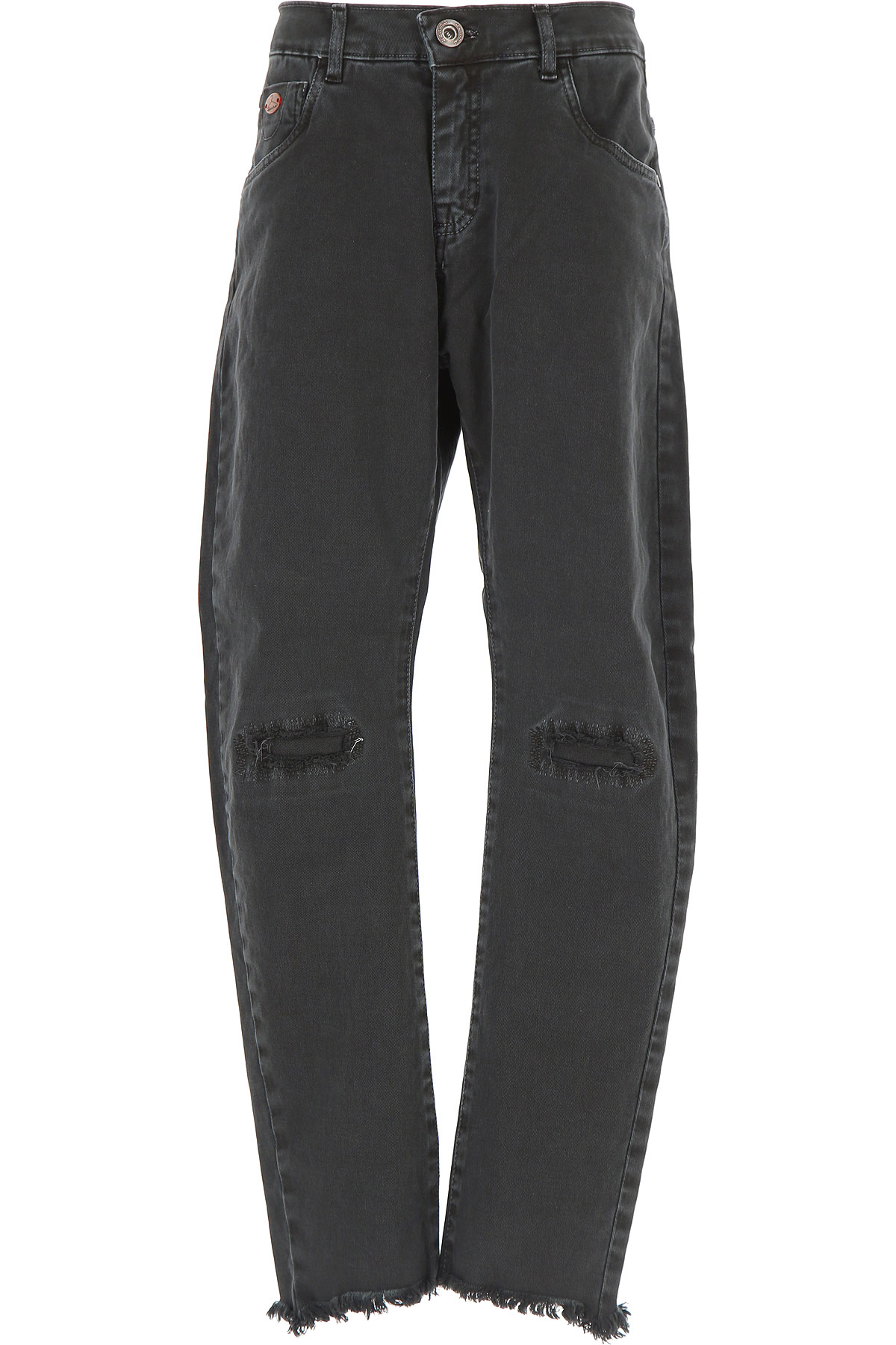 Image of Berna Kids Jeans for Boys, Black, Cotton, 2017, 14Y 16Y