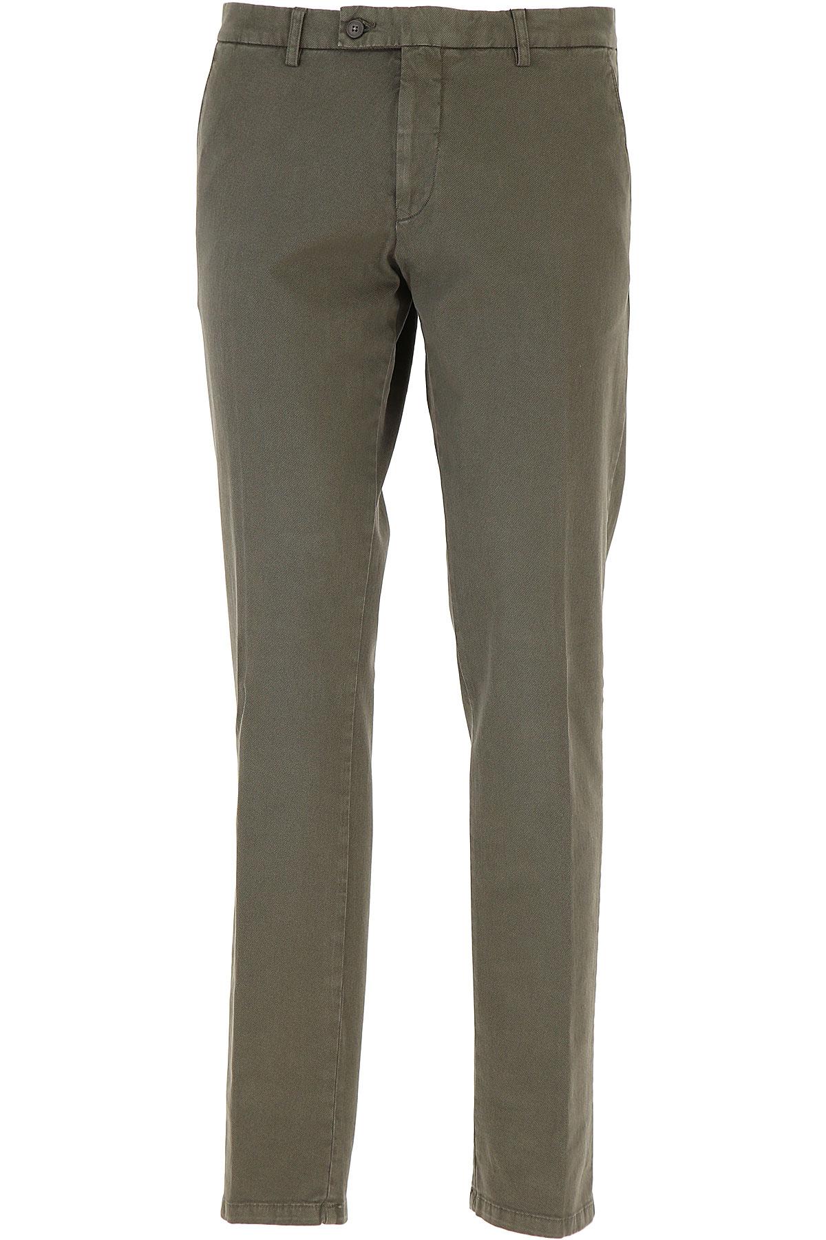 Image of Berwich Pants for Men, Olive, Cotton, 2017, 30 36