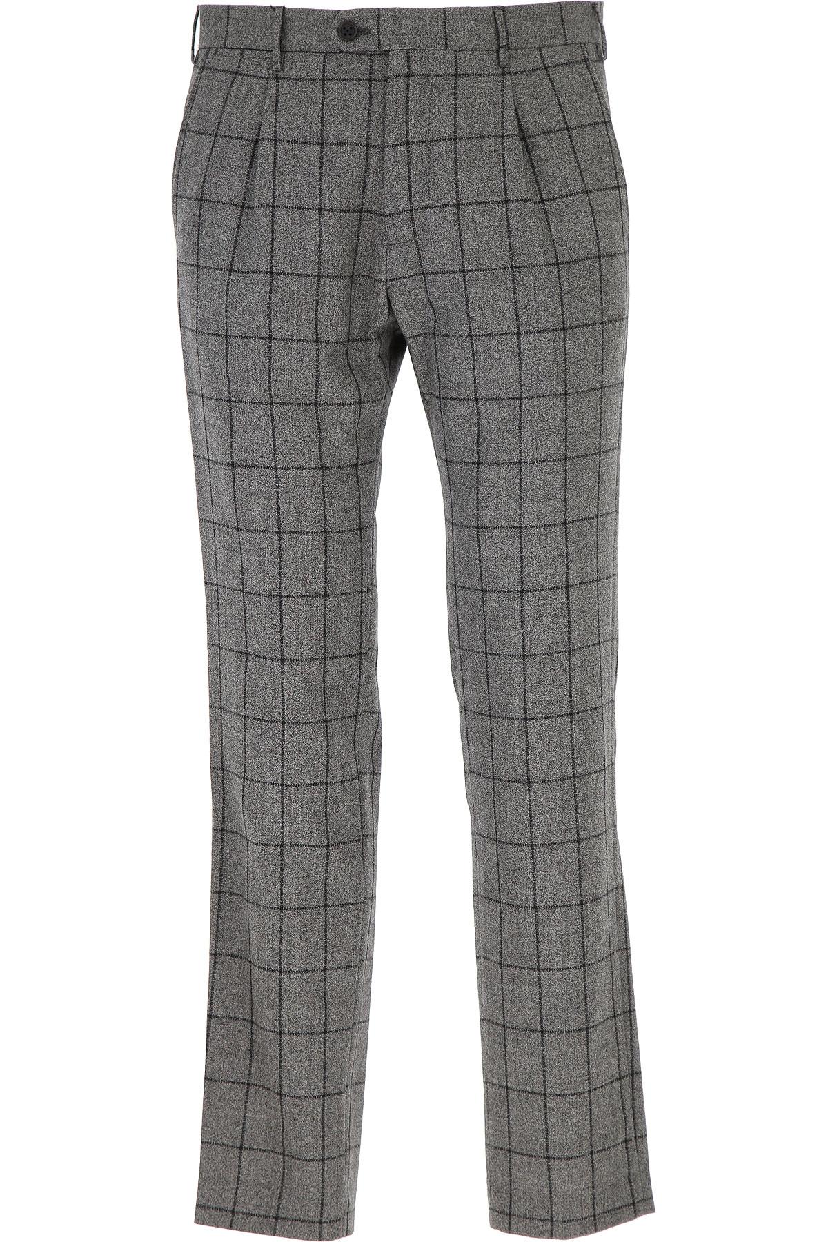 Image of Berwich Pants for Men, Medium Grey, Virgin wool, 2017, 30 34 36 38