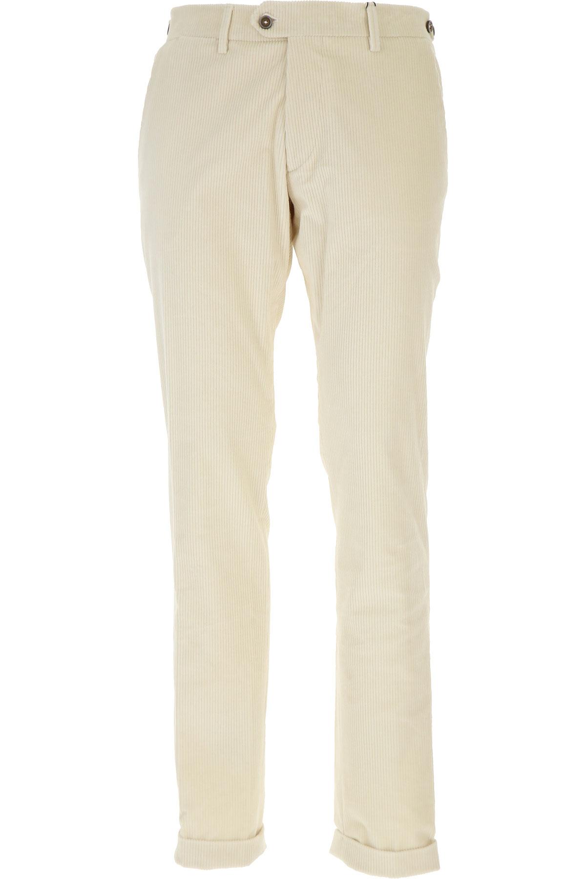 Image of Berwich Pants for Men, Milk, Cotton, 2017, 30 32 34 36 38