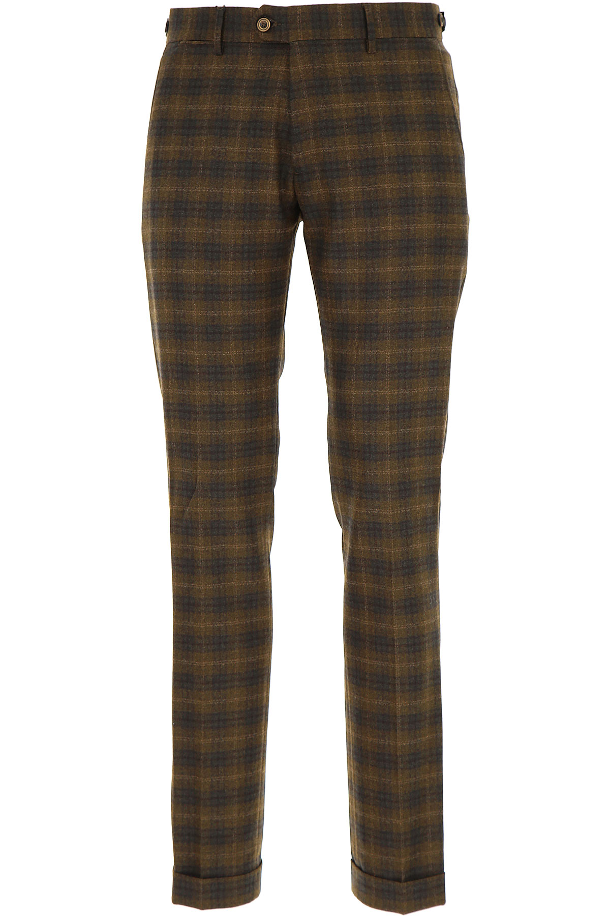 Image of Berwich Pants for Men, Coffee, Virgin wool, 2017, 30 32 34 36 38