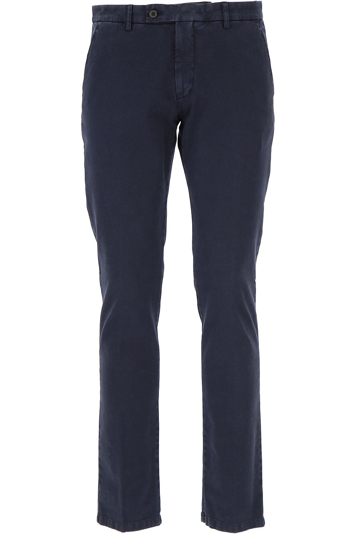 Image of Berwich Pants for Men, navy, Cotton, 2017, 30 32 36 38 40