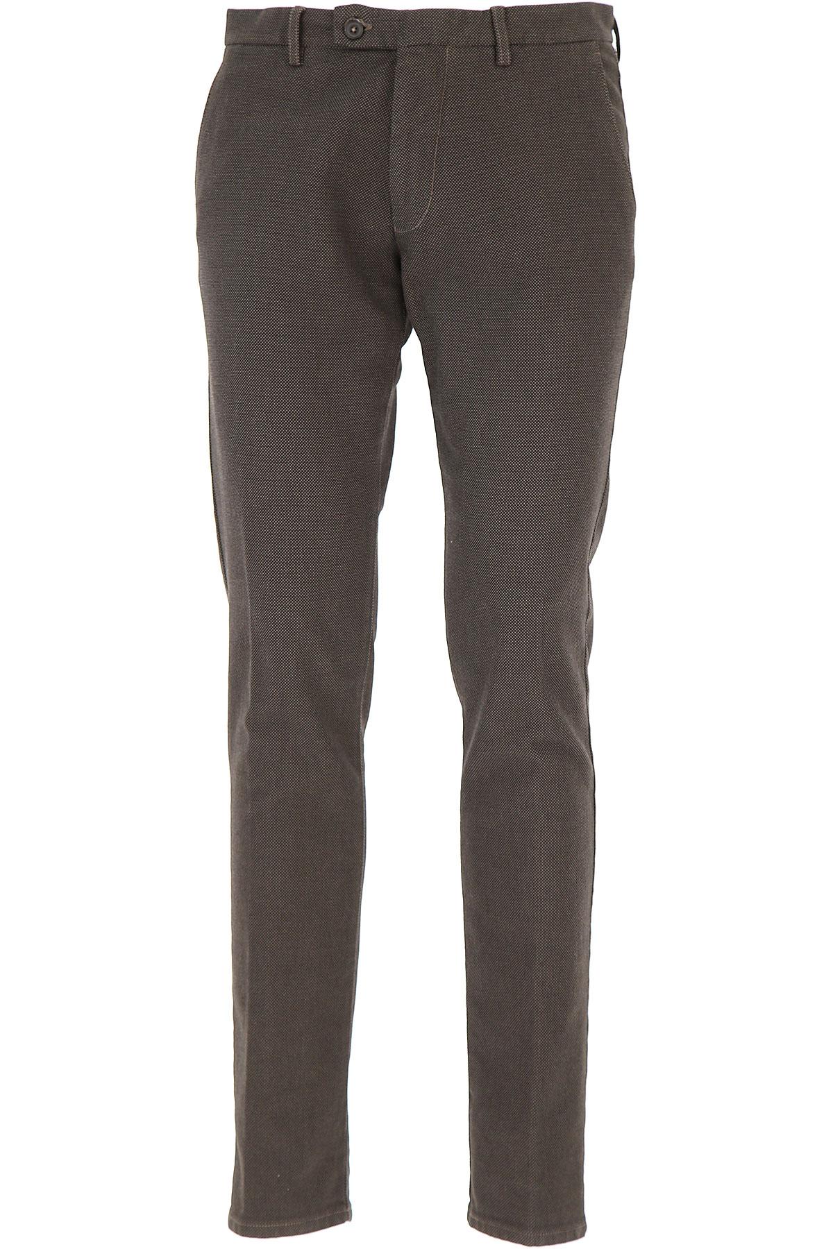 Image of Berwich Pants for Men, Moka, Cotton, 2017, 30 32 34 36 38