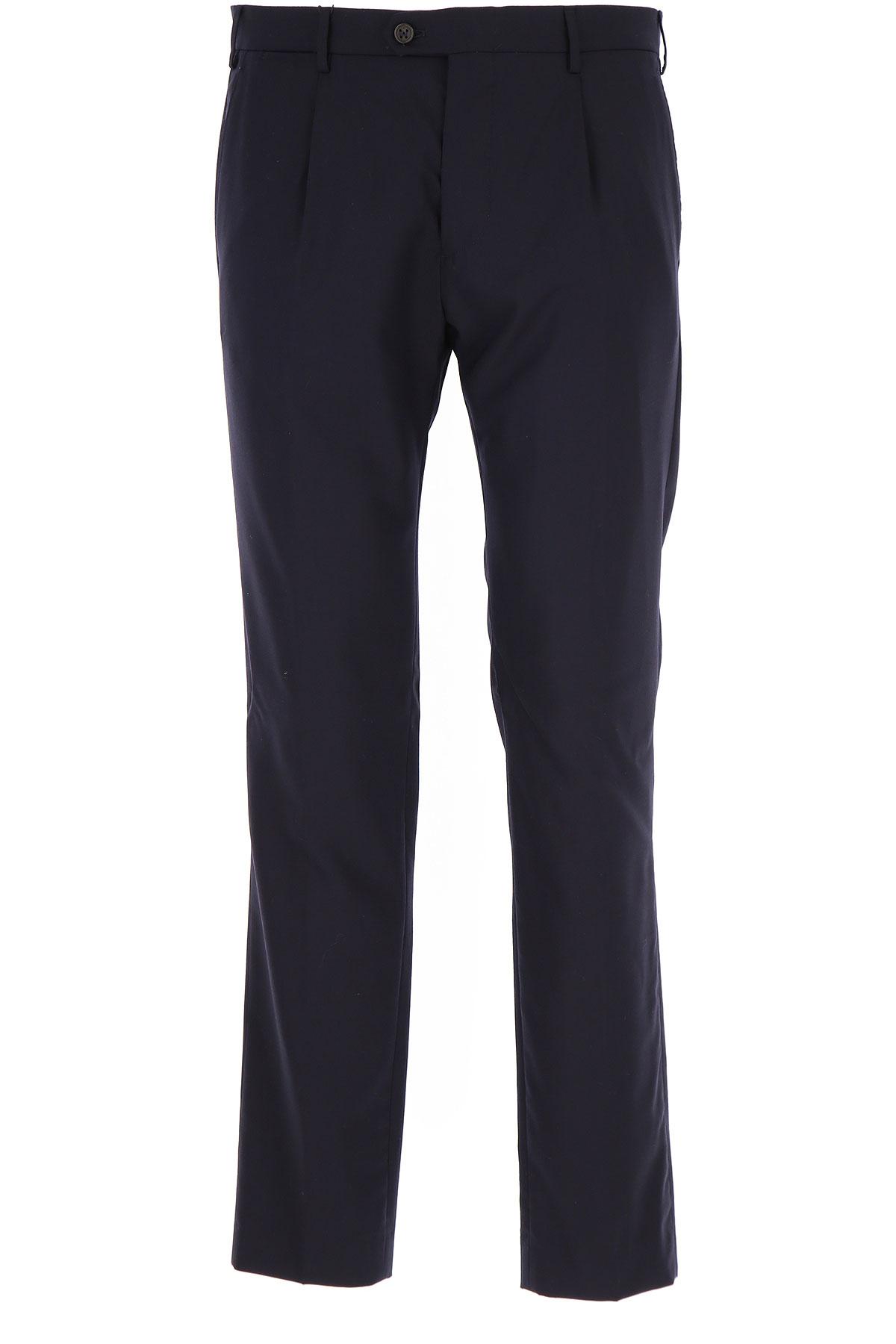 Image of Berwich Pants for Men, Blue Ink, Wool, 2017, 30 32 34 36 38