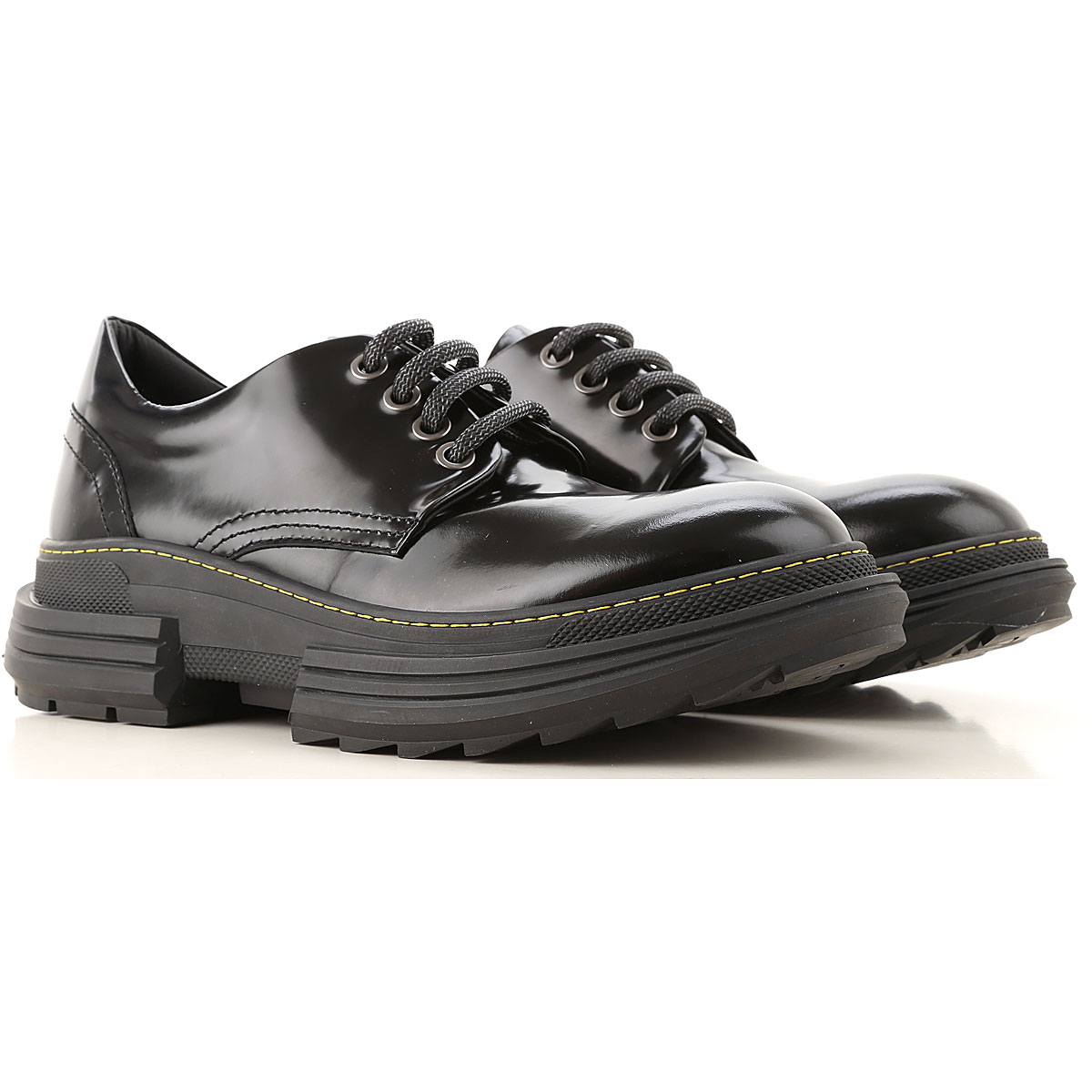 Beyond Lace Up Shoes for Men Oxfords, Derbies and Brogues, Black, Patent Leather, 2019, 10 11.5 7.5 9