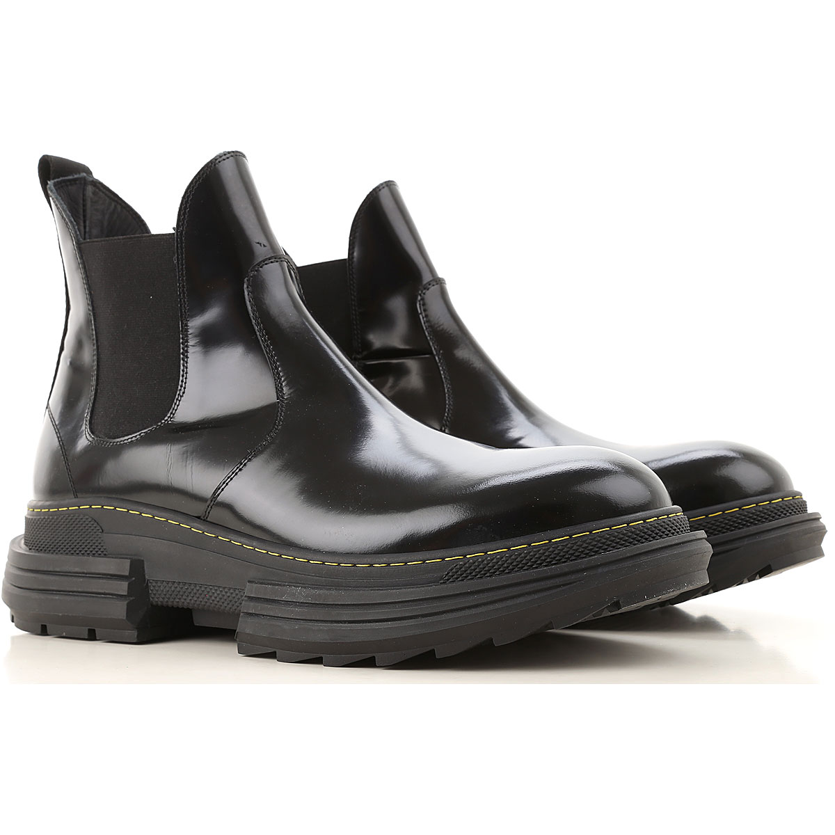Beyond Chelsea Boots for Men, Black, Leather, 2019, 11.5 8 9