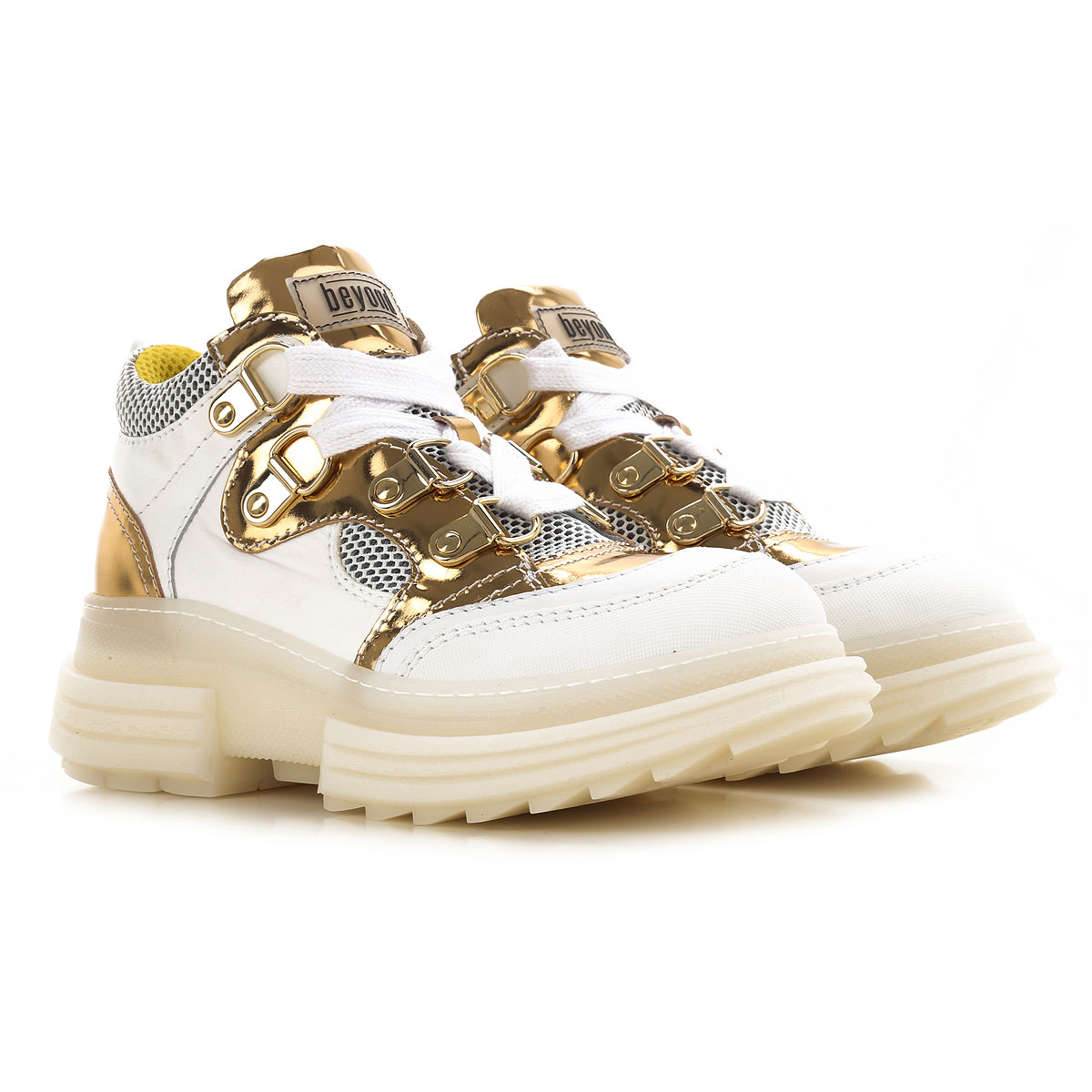 Beyond Sneakers for Women, White, Leather, 2019, 10 6 7 8 9