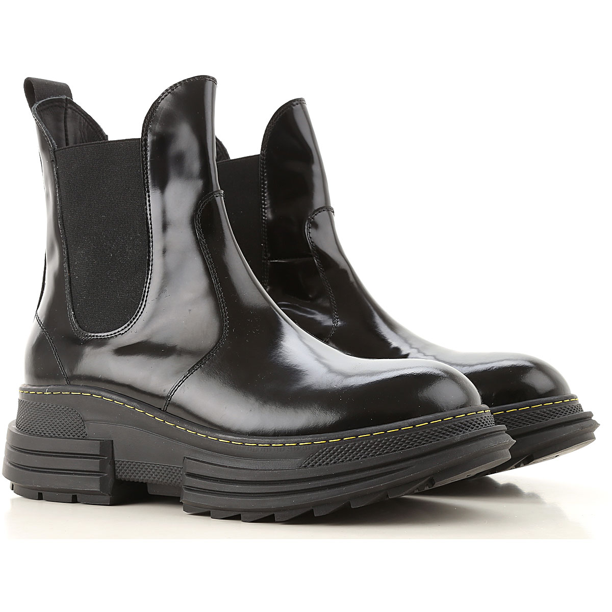 Beyond Boots for Women, Booties, Black, Patent Leather, 2019, 6 8 9
