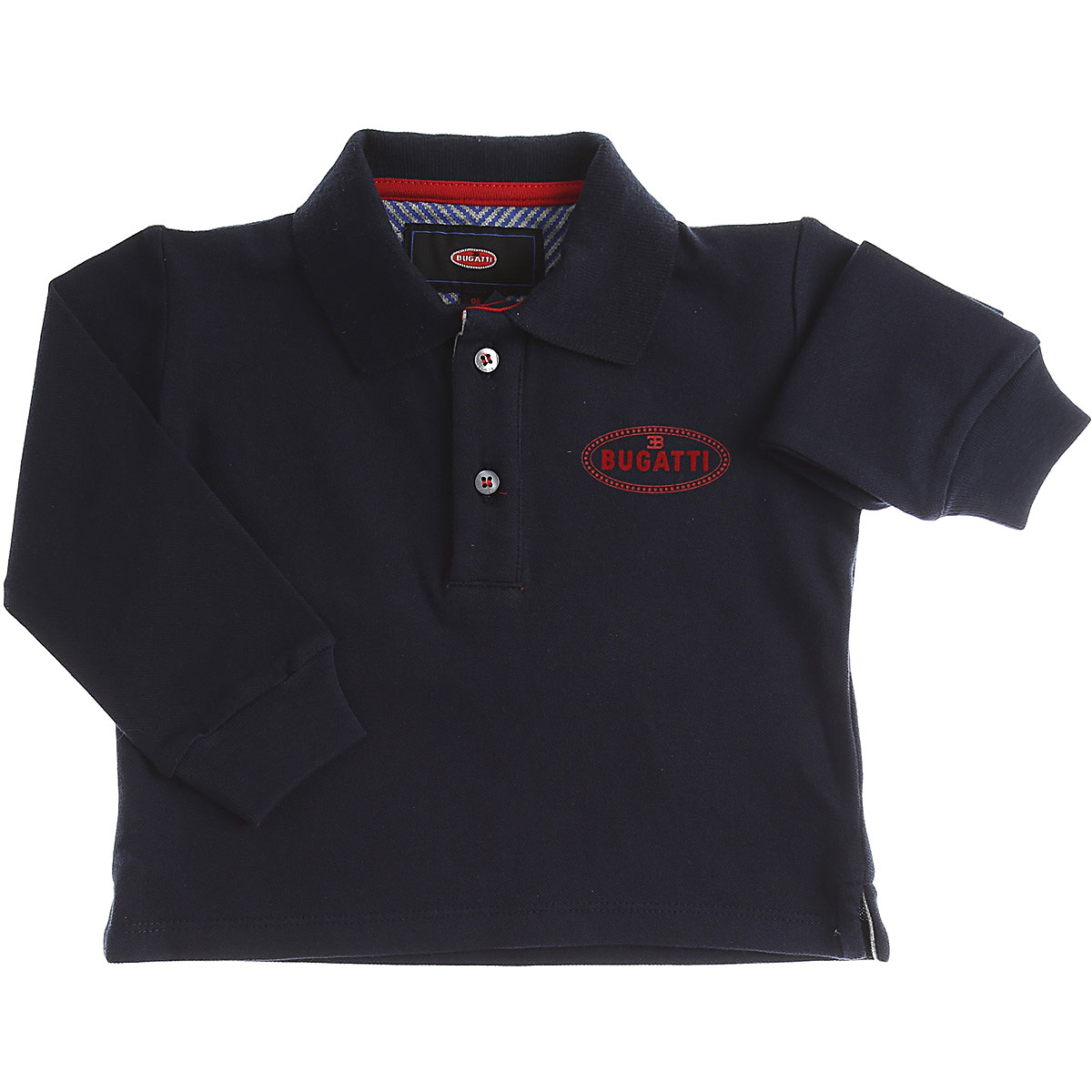 Image of Bugatti Baby Polo Shirt for Boys, Navy Blue, Cotton, 2017, 12M 18M 6M 9M