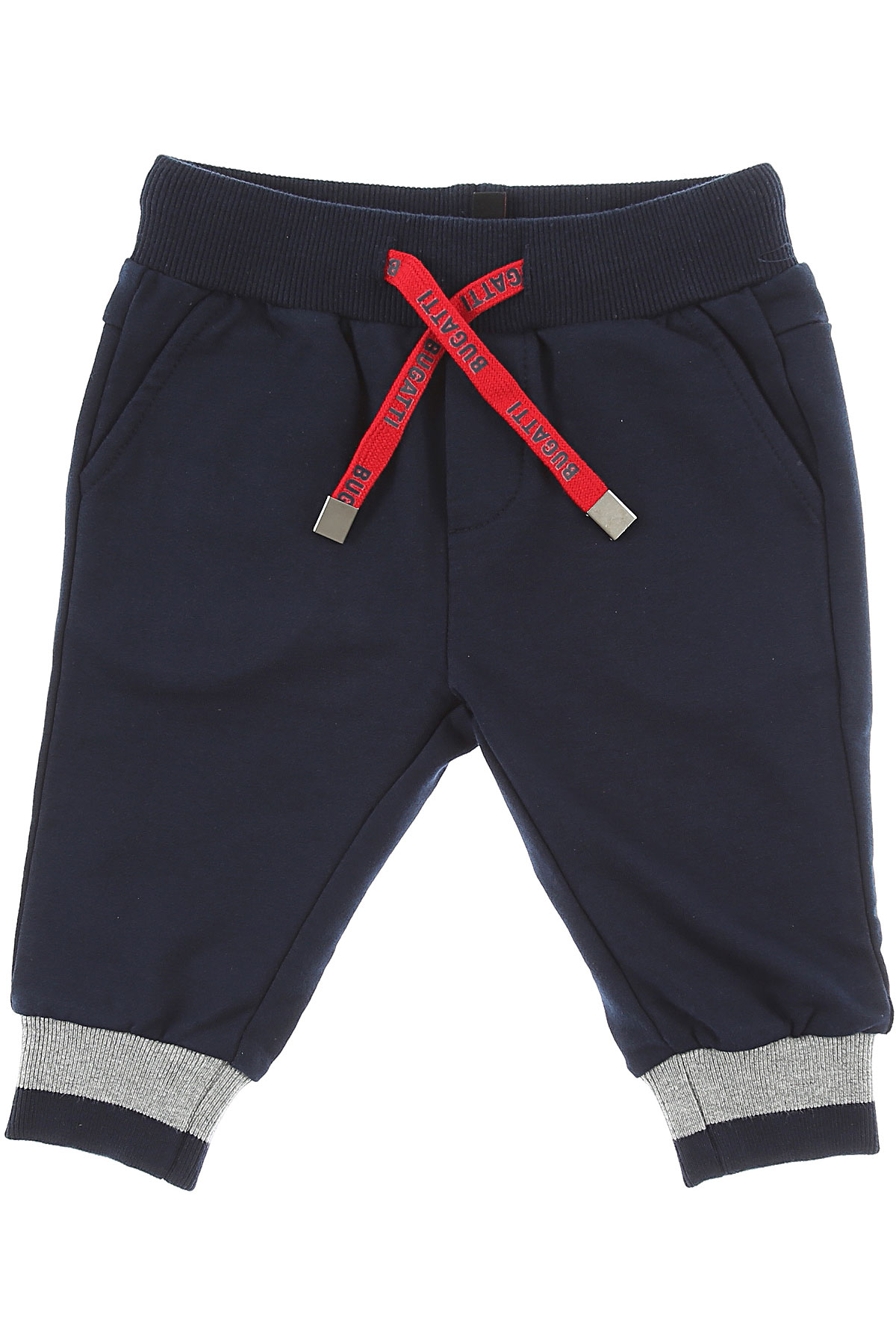 Image of Bugatti Baby Pants for Boys, Navy Blue, Cotton, 2017, 12M 18M 6M 9M