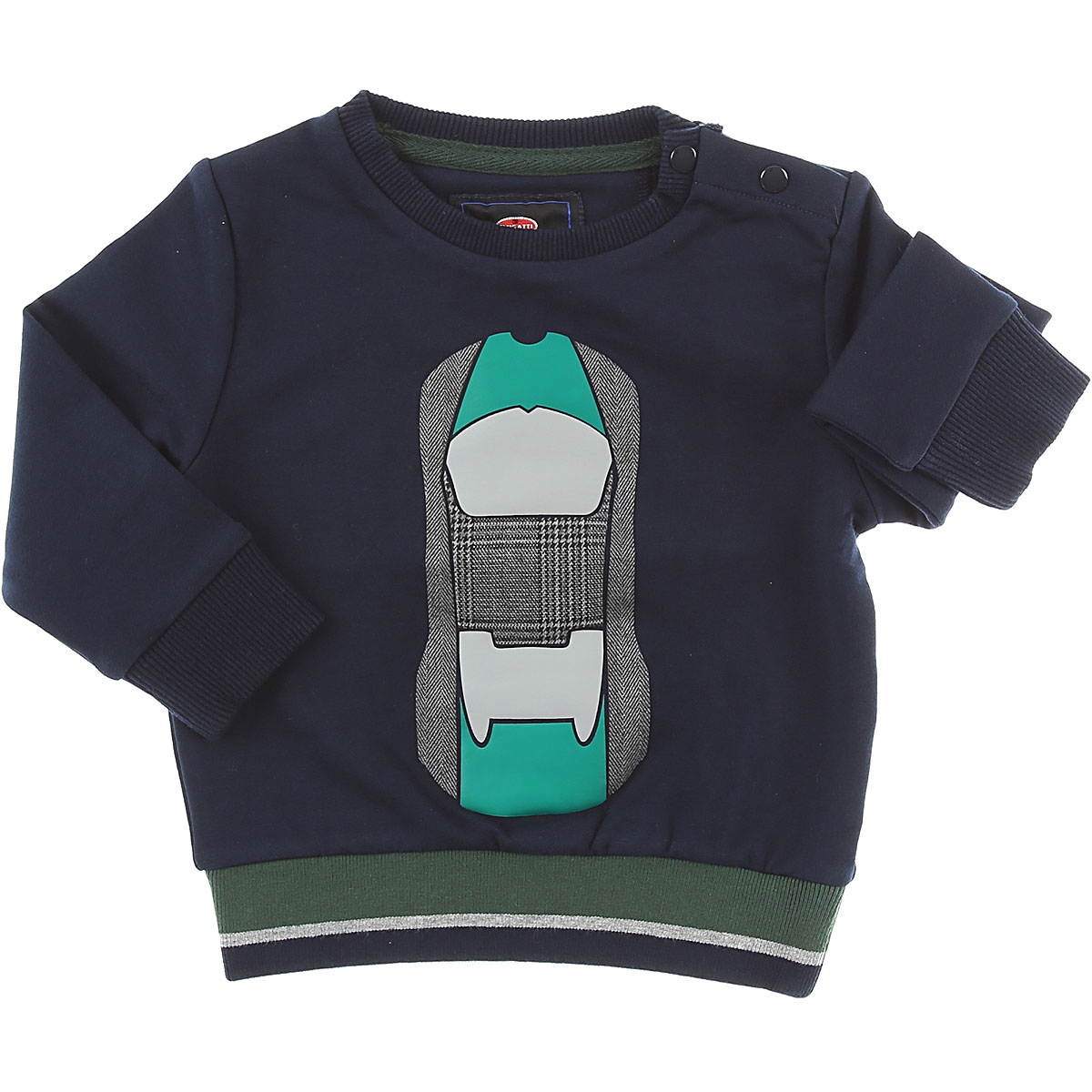 Image of Bugatti Baby Sweatshirts & Hoodies for Boys, Navy Blue, Cotton, 2017, 12M 18M 6M 9M
