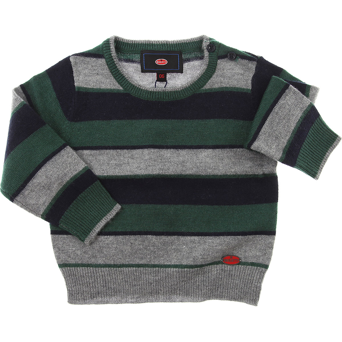 Image of Bugatti Baby Sweaters for Boys, Blue, Wool, 2017, 12M 18M 6M 9M