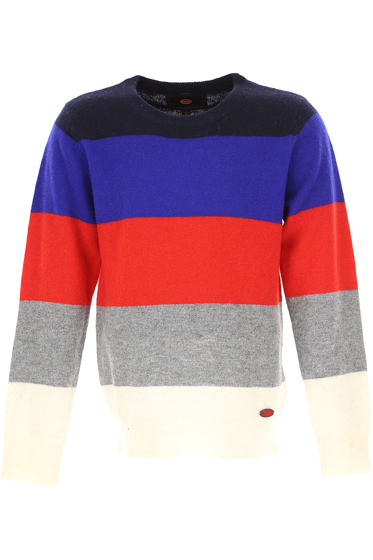 Image of Bugatti Kids Sweaters for Boys, Blue, Wool, 2017, 2Y 3Y 4Y 5Y 6Y 7Y