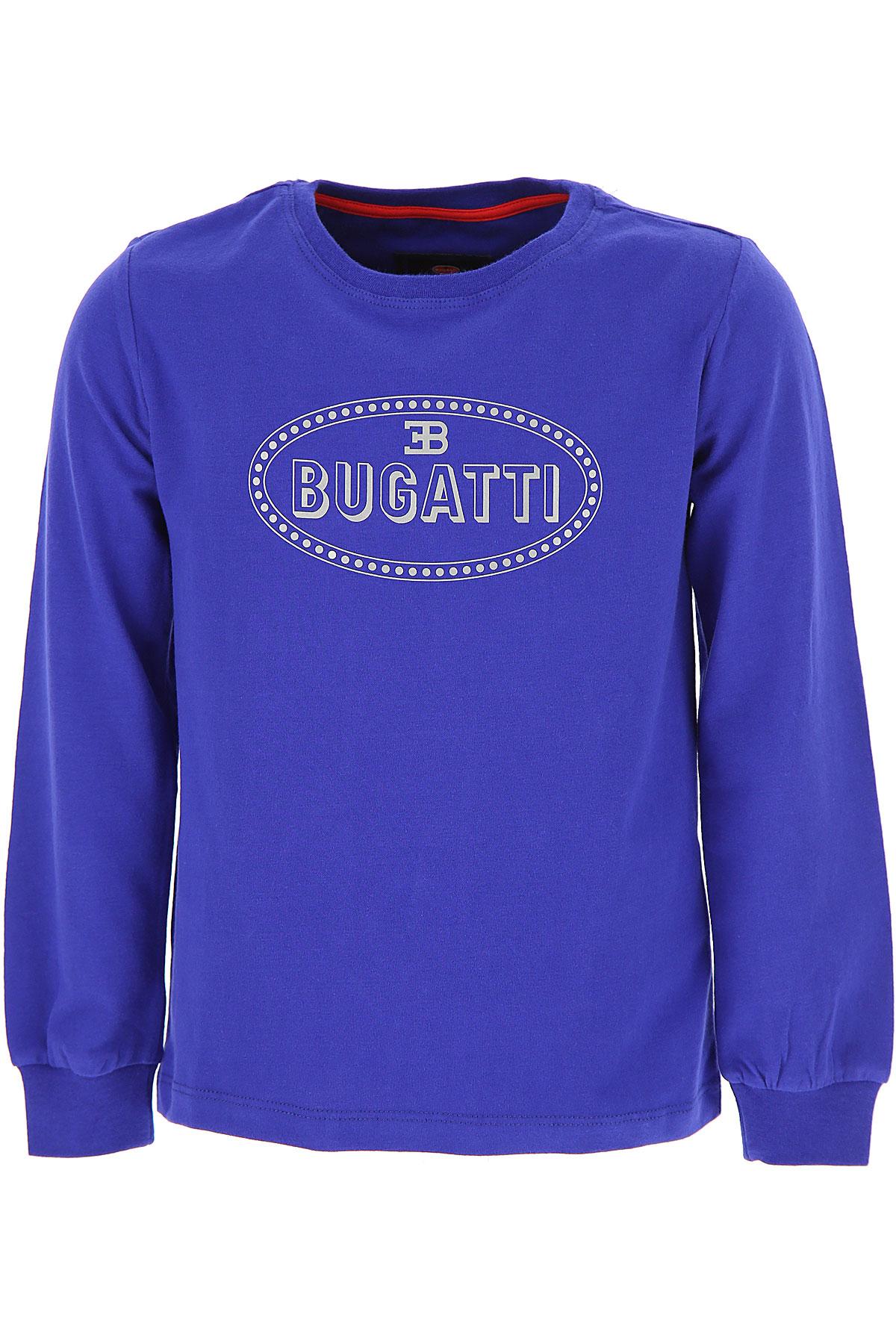 Image of Bugatti Kids T-Shirt for Boys, Bluette, Cotton, 2017, 2Y 3Y 4Y 6Y 7Y