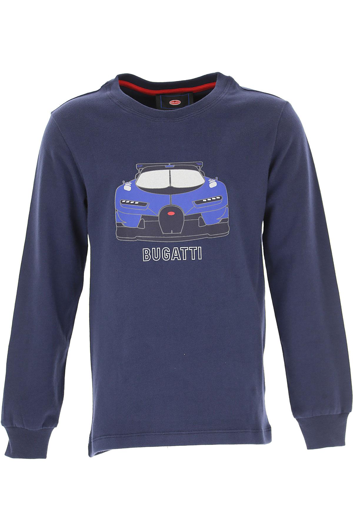 Image of Bugatti Kids T-Shirt for Boys, Blue, Cotton, 2017, 2Y 3Y 4Y 5Y 6Y 7Y