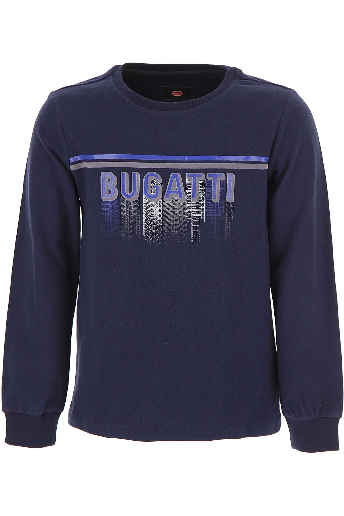 Image of Bugatti Kids T-Shirt for Boys, Blue, Cott, 2017, 2Y 3Y 4Y 5Y 6Y 7Y