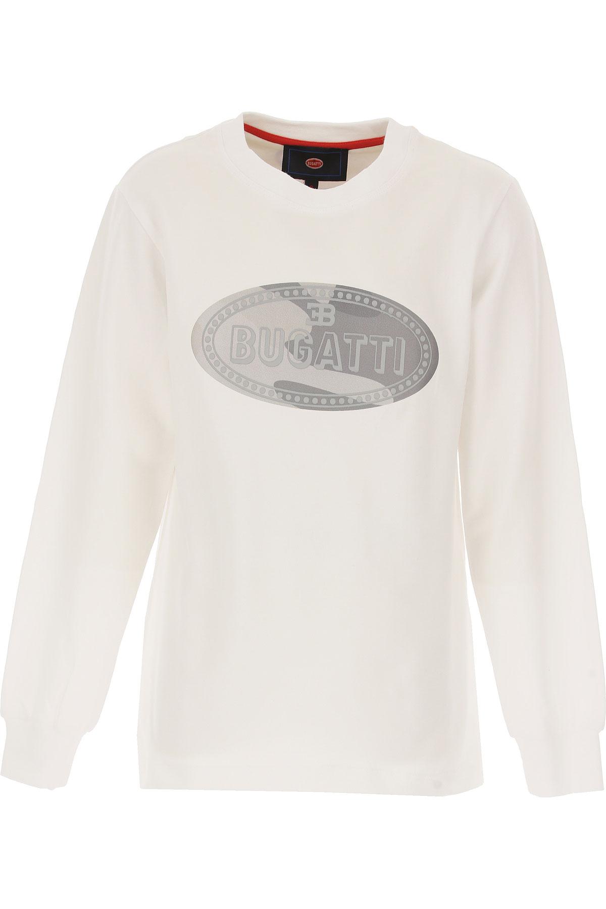 Bugatti Kids T-Shirt for Boys, White, Cotton, 2017, 10Y 14Y 16Y 8Y USA-487620