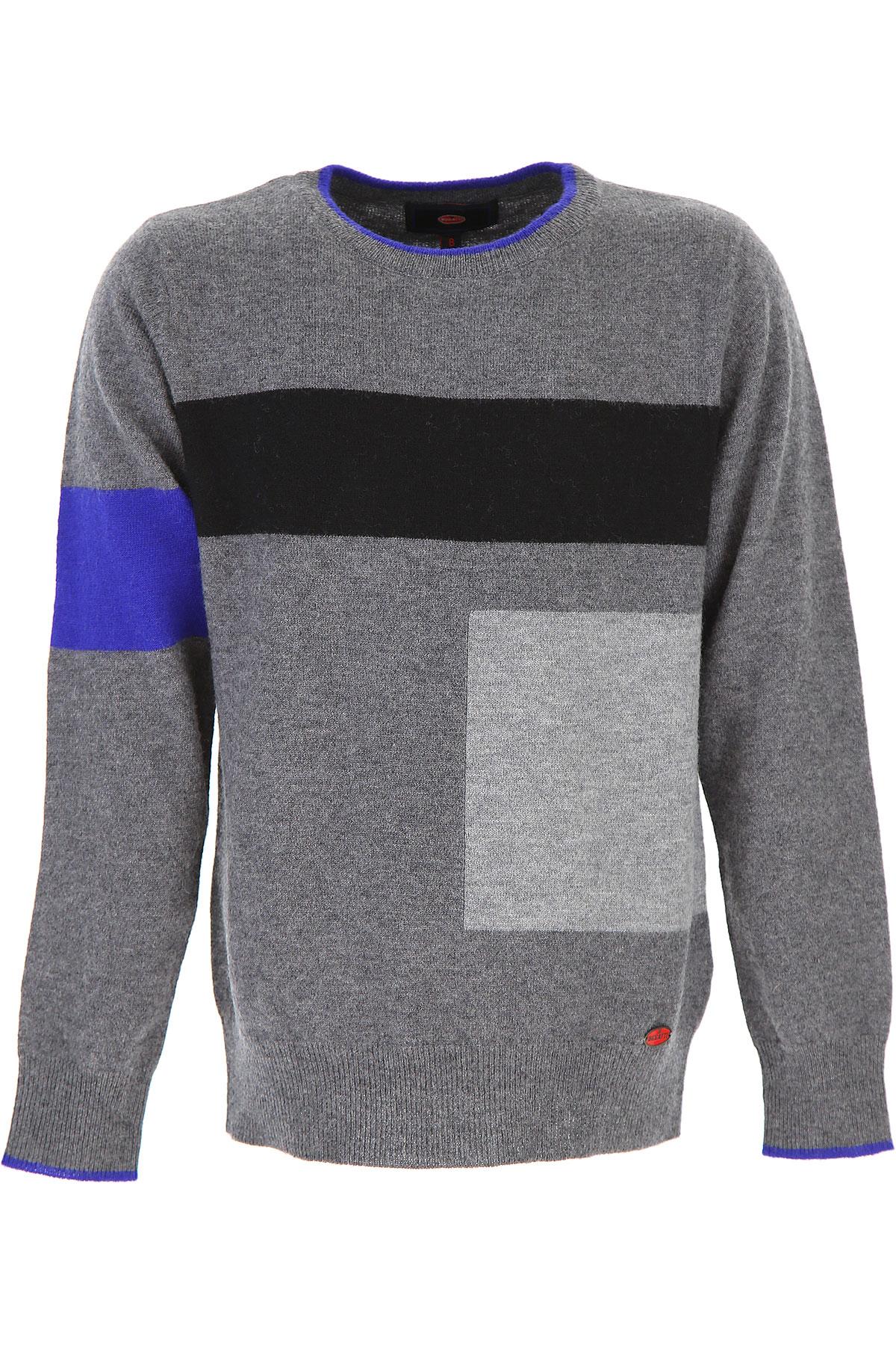 Image of Bugatti Kids Sweaters for Boys, Grey, Wool, 2017, 10Y 8Y