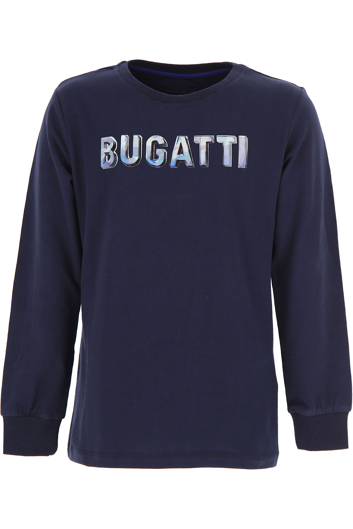 Image of Bugatti Kids T-Shirt for Boys, Blue, Cotton, 2017, 10Y 8Y