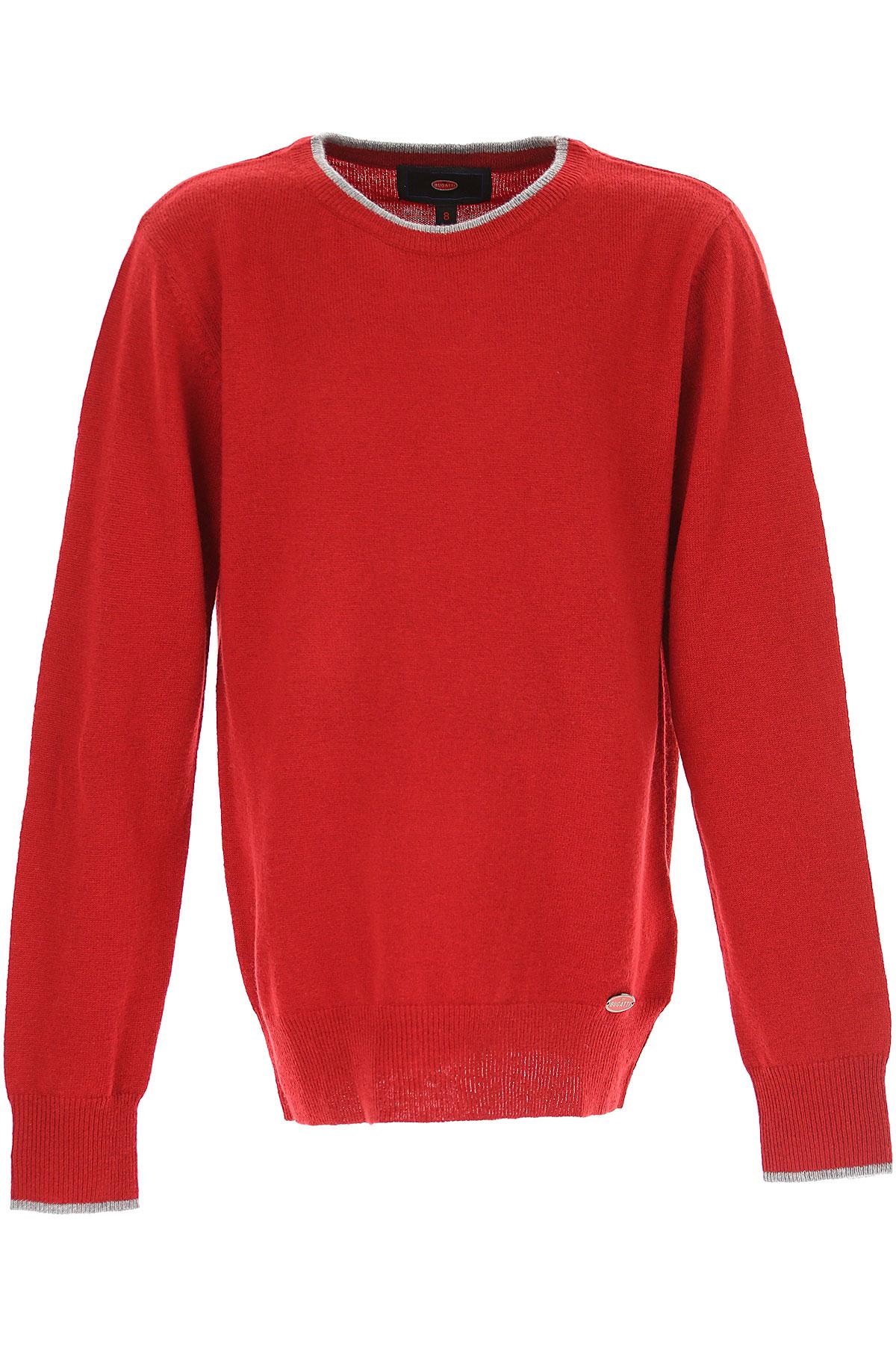 Image of Bugatti Kids Sweaters for Boys, Red, Wool, 2017, 10Y 14Y 16Y 8Y