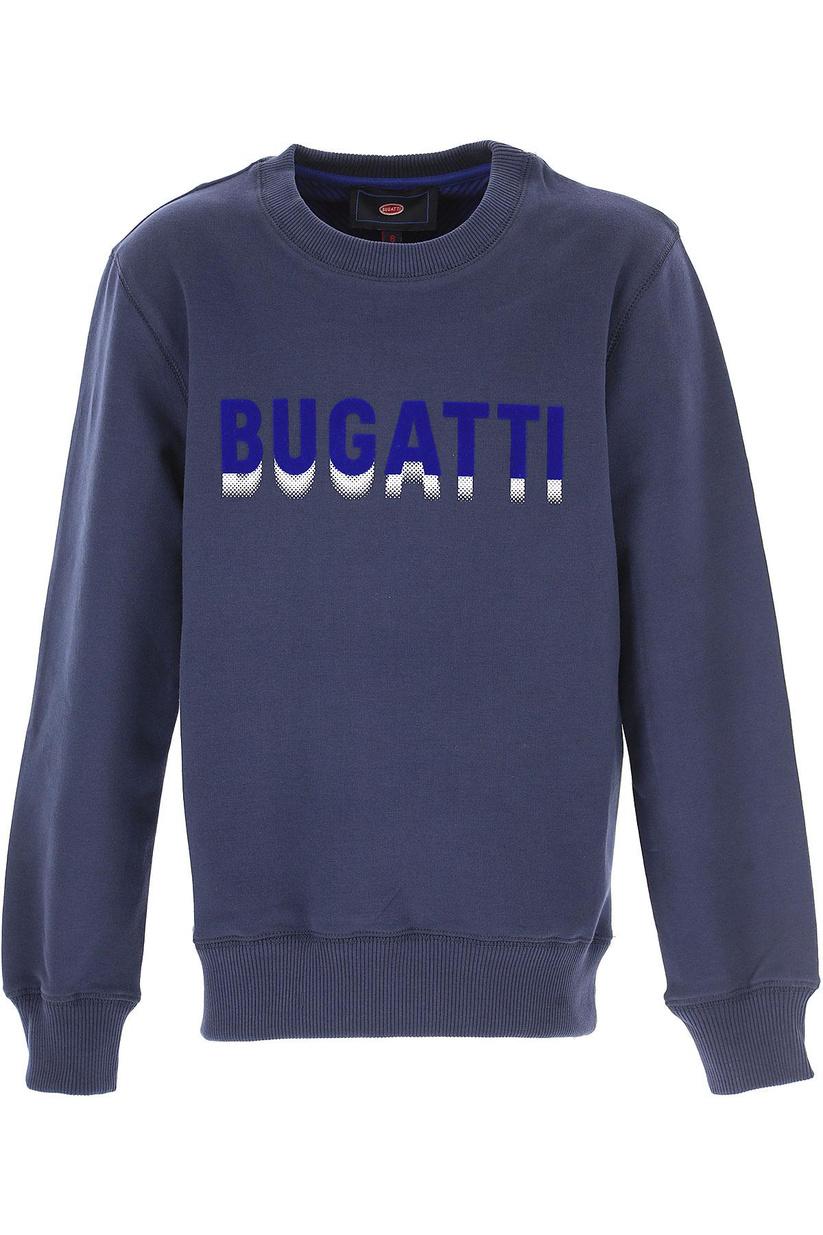 Image of Bugatti Kids Sweatshirts & Hoodies for Boys, Blue, Cotton, 2017, 10Y 14Y 16Y 8Y