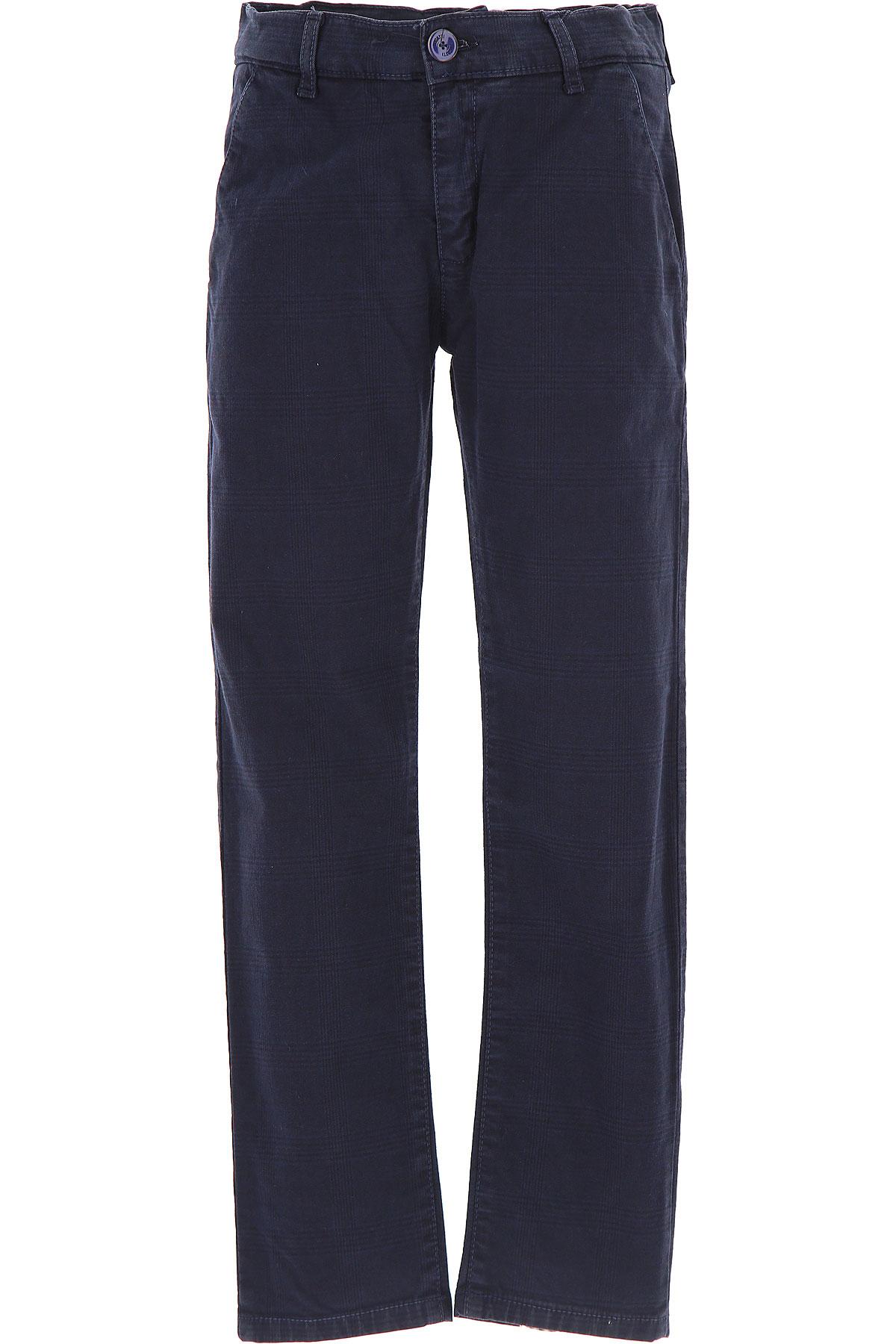 Image of Bugatti Kids Pants for Boys, Blue, Cotton, 2017, 10Y 14Y 16Y 8Y