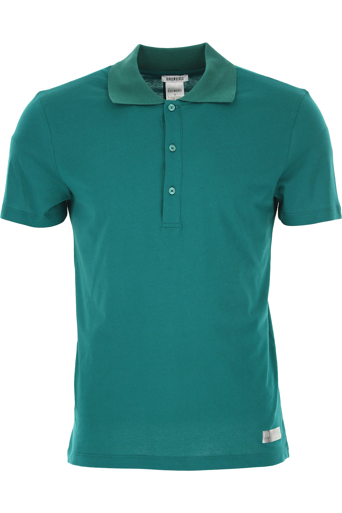 Dirk Bikkembergs Polo Shirt for Men On Sale in Outlet, Emerald, Cotton, 2019, S XL