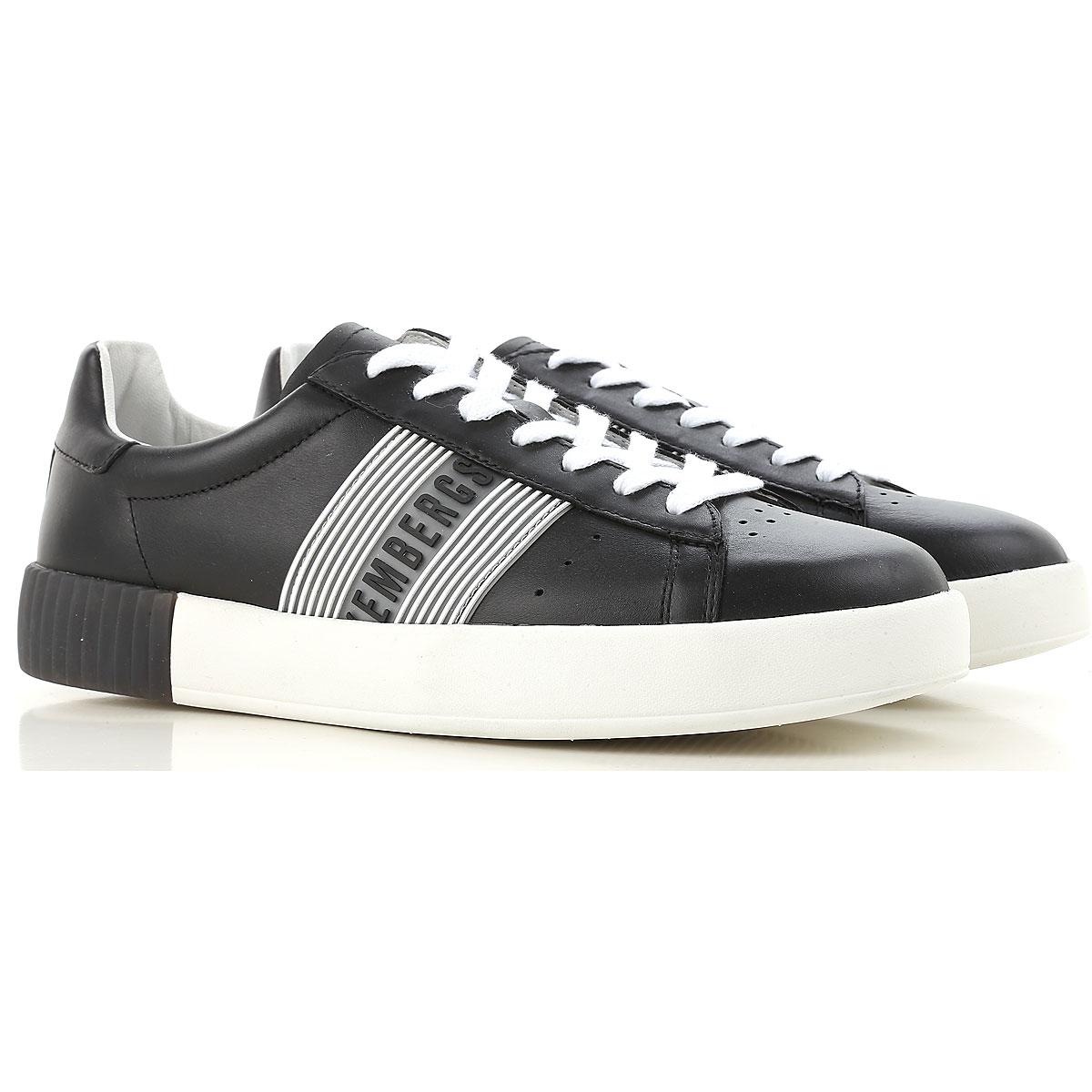 Dirk Bikkembergs Sneaker Homme Pas cher en Soldes, Noir, Cuir, 2017, 39.5 42 43 44.5 46