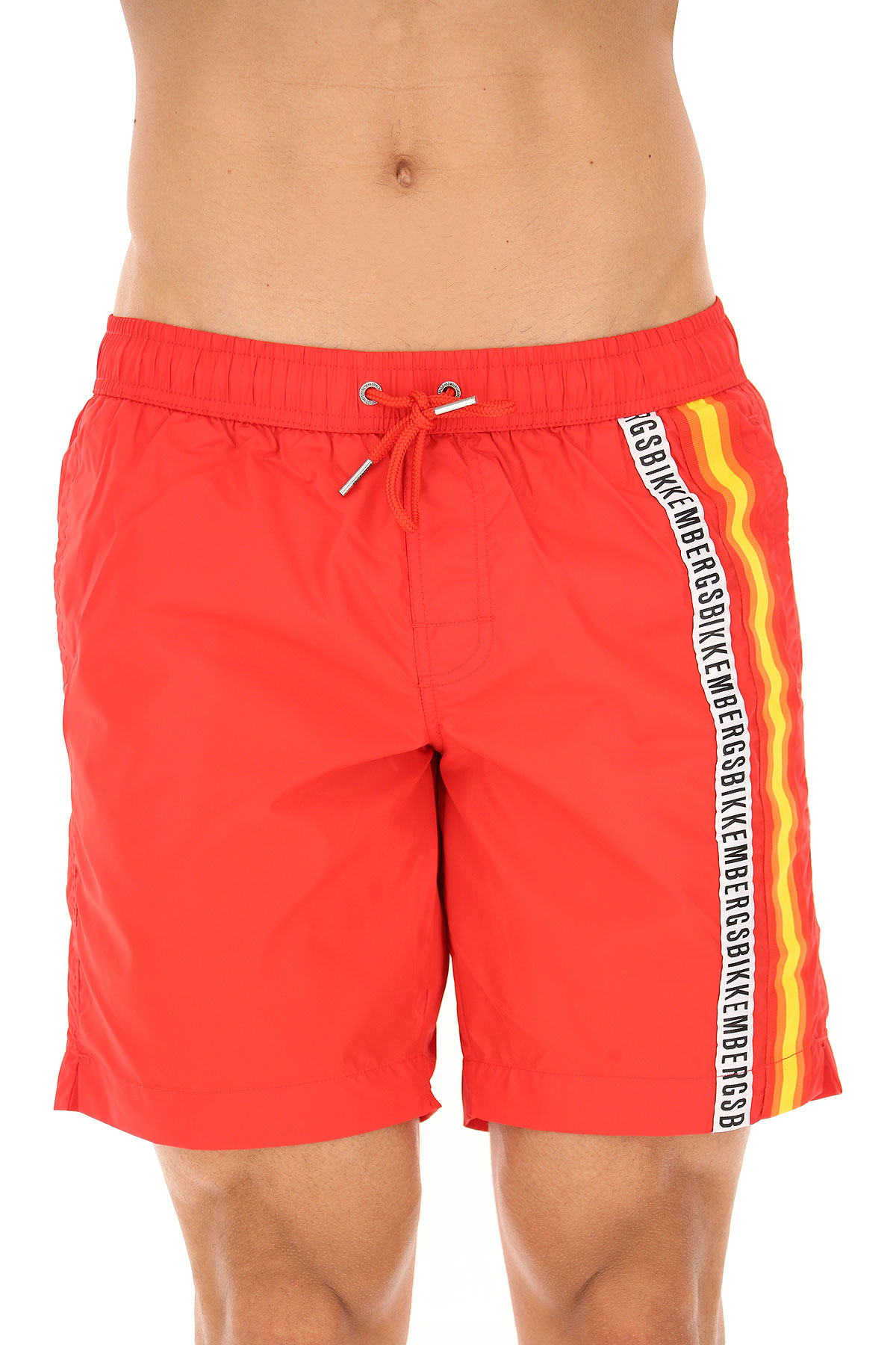 171f7f64f2fa95 Dirk Bikkembergs Board Shorts for Men On Sale in Outlet, Red, polyamide,  2019