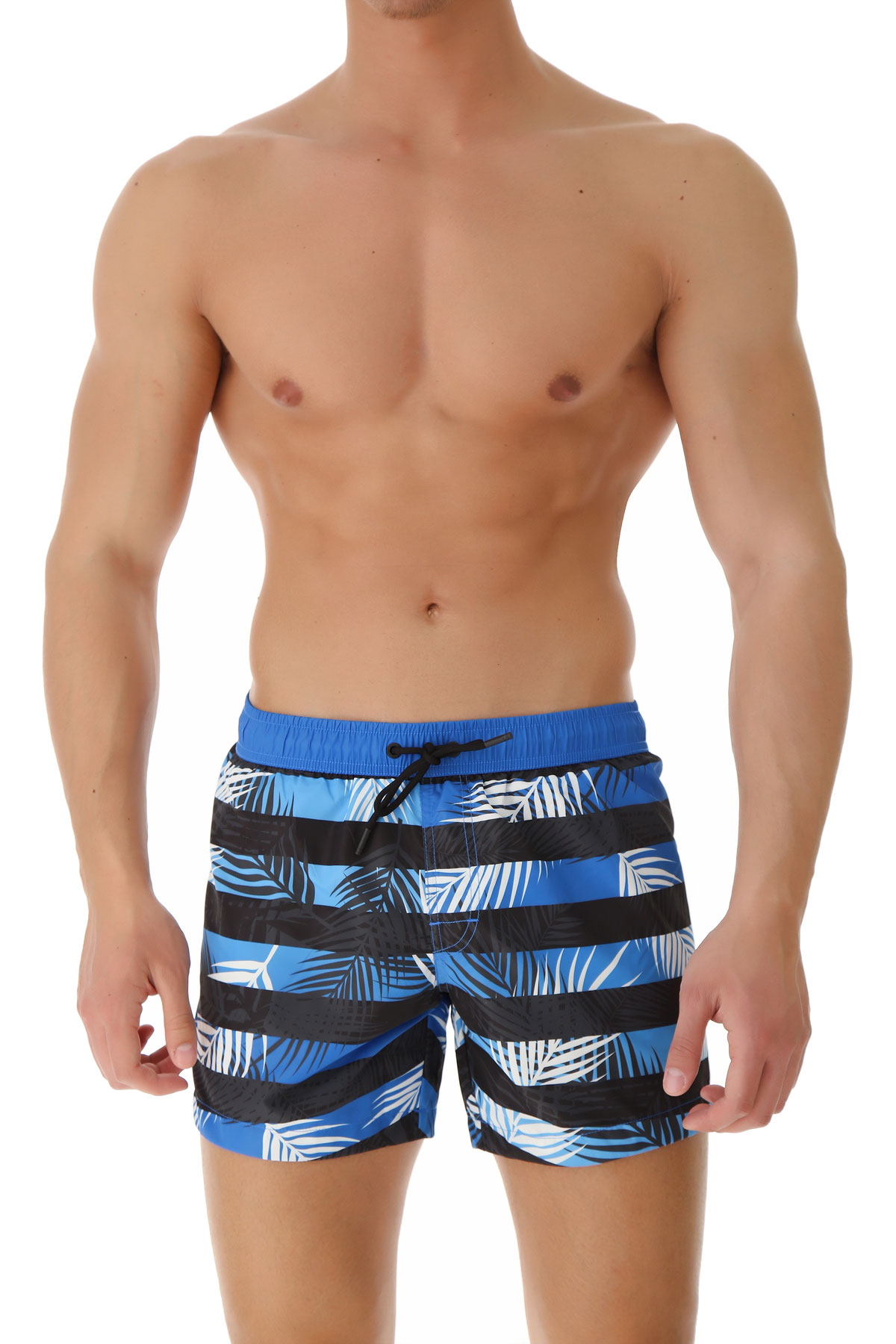 Bikkembergs Swim Shorts Trunks for Men On Sale in Outlet, Turquoise, polyester, 2019, S L XL