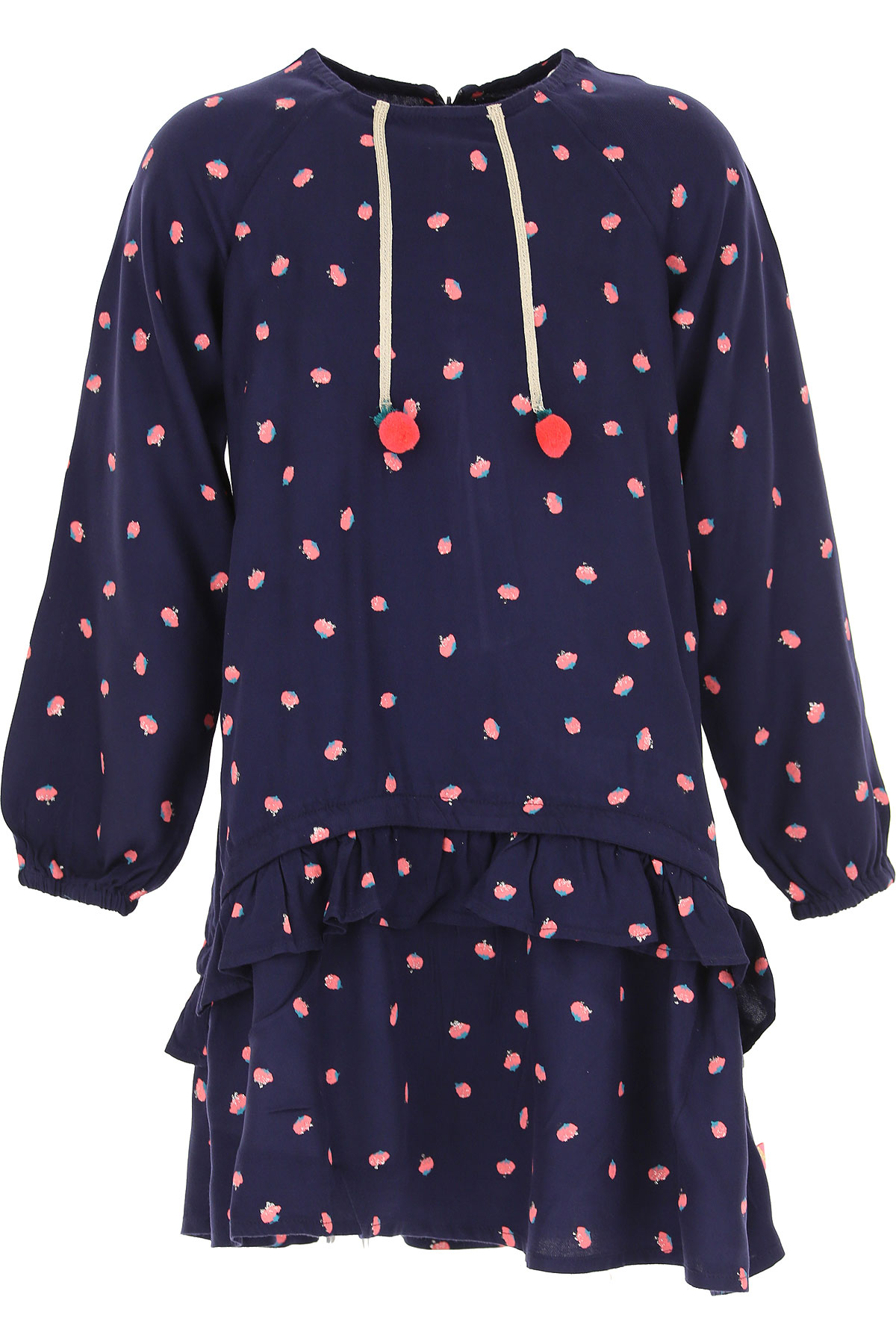 Billieblush Girls Dress On Sale, navy, Viscose, 2019, 10Y 12Y 2Y 6Y 8Y