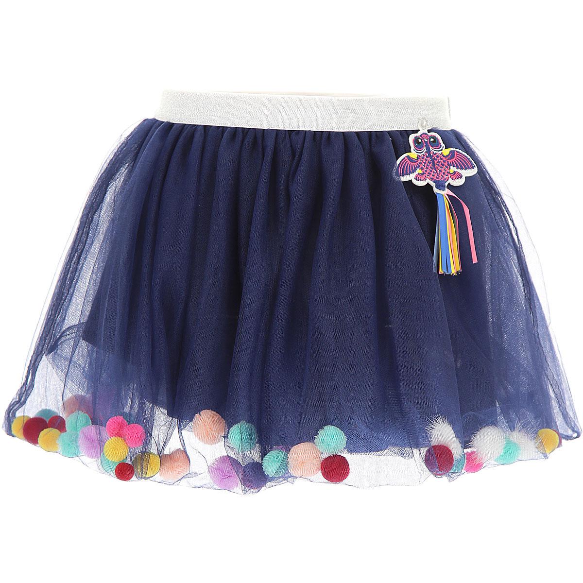 Image of Billieblush Kids Skirts for Girls, Blue, polyamide, 2017, 10Y 2Y 4Y 6Y 8Y