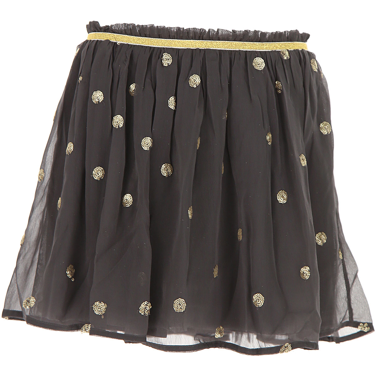 Image of Billieblush Kids Skirts for Girls, Grey, polyester, 2017, 10Y 2Y 4Y 5Y 6Y 8Y