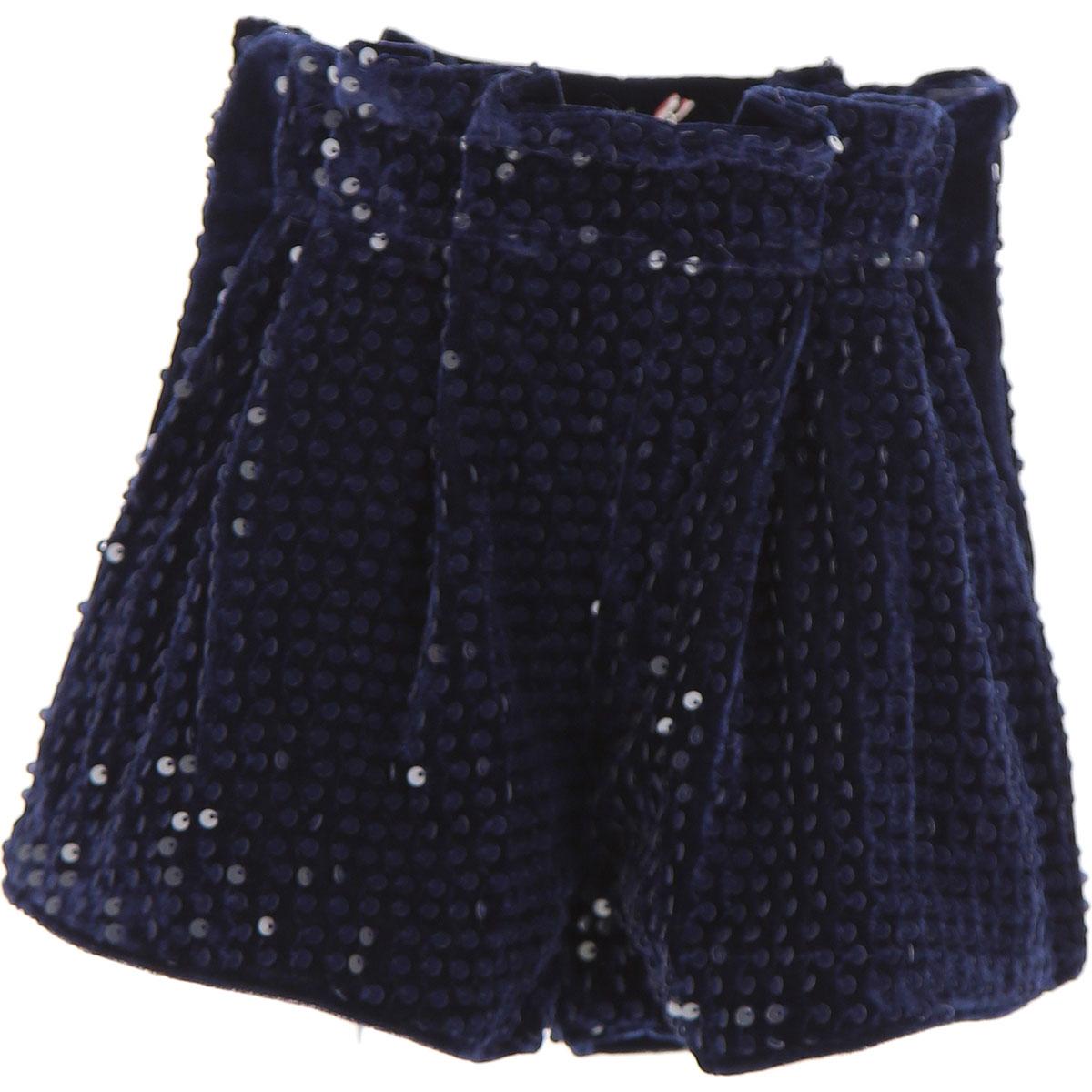 Image of Billieblush Kids Shorts for Girls, Blue, polyester, 2017, 10Y 4Y 6Y 8Y