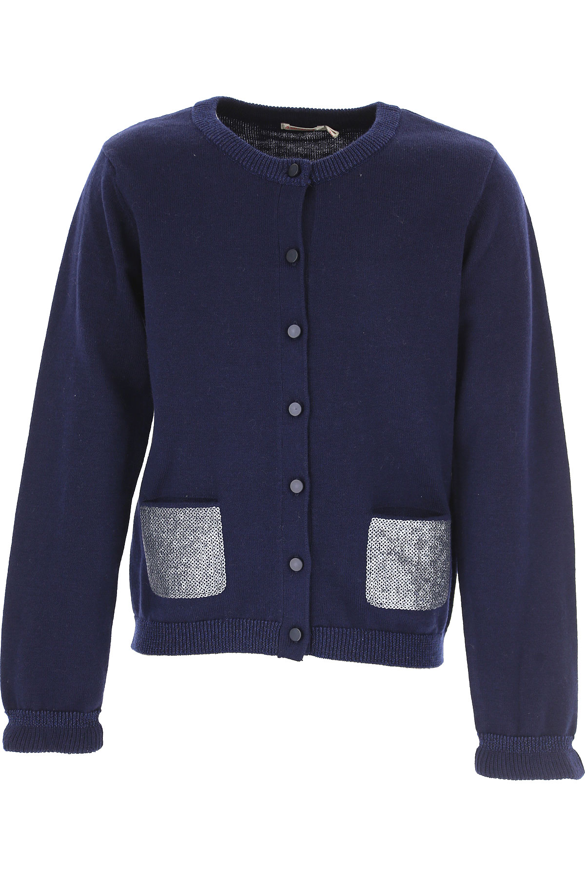 Image of Billieblush Kids Sweaters for Girls, Blue, Cotton, 2017, 10Y 4Y 6Y 8Y