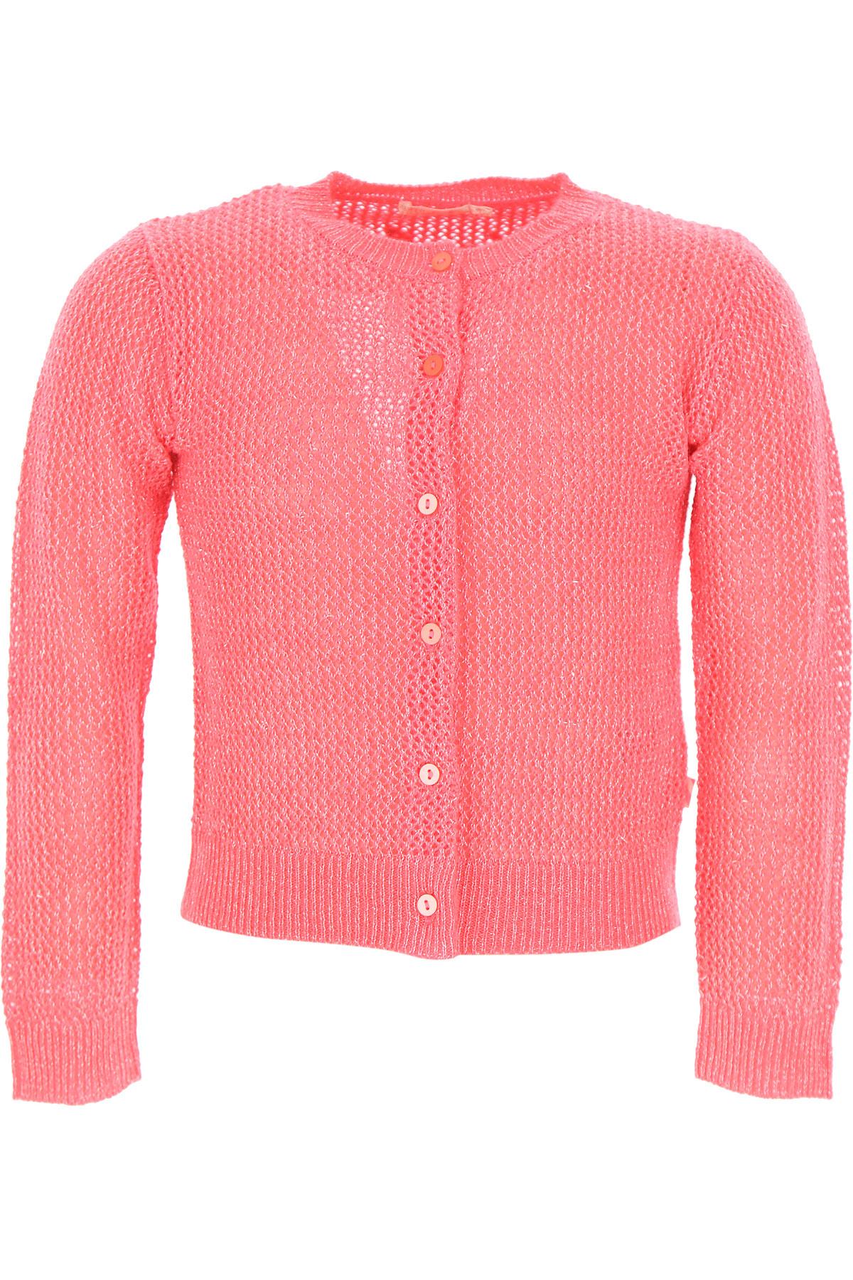 Image of Billieblush Kids Sweaters for Girls, Fluo Fuchsia, Acrylic, 2017, 10Y 2Y 4Y 6Y 8Y