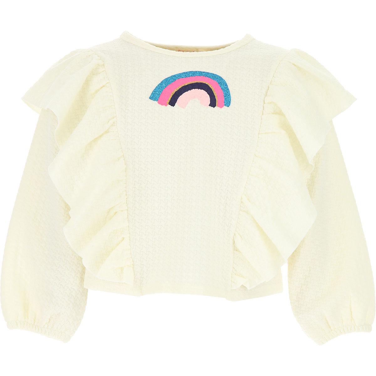 Image of Billieblush Kids Sweatshirts & Hoodies for Girls, White, polyester, 2017, 10Y 2Y 4Y 6Y 8Y