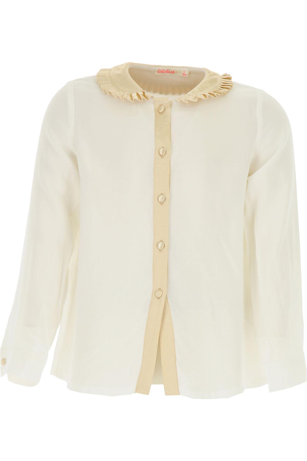 Image of Billieblush Kids Shirts for Girls, White, viscosa, 2017, 10Y 2Y 4Y 6Y 8Y
