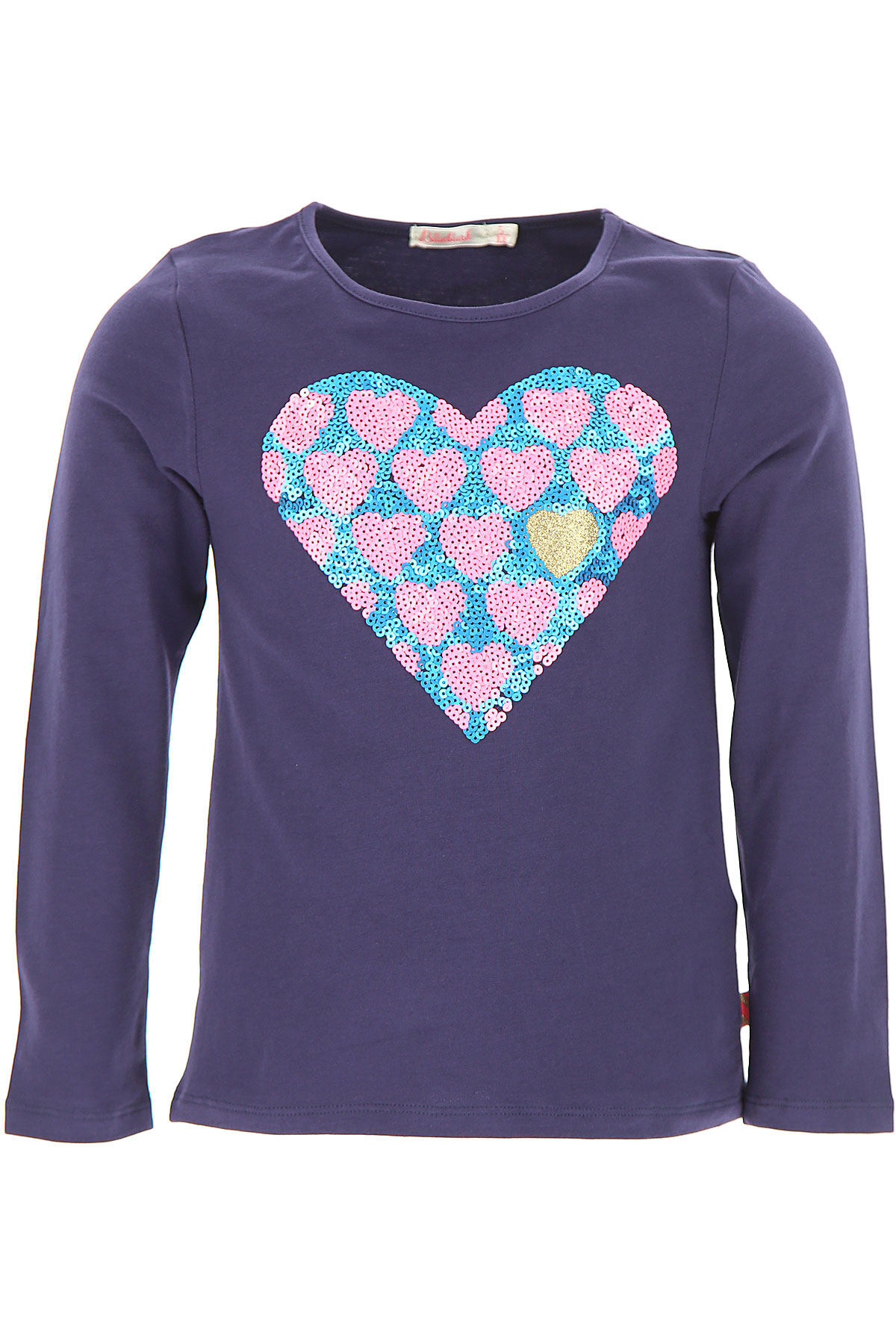 Image of Billieblush Kids T-Shirt for Girls, Blue, Cotton, 2017, 3Y 4Y 5Y 6Y 8Y