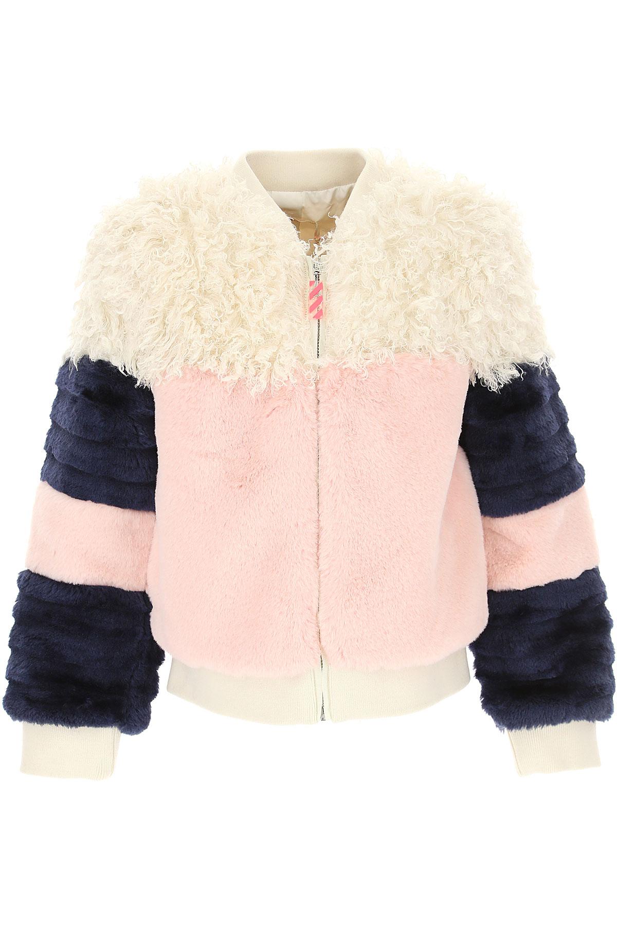 Image of Billieblush Kids Jacket for Girls, Baby Pink, polyester, 2017, 10Y 4Y 5Y 6Y 8Y