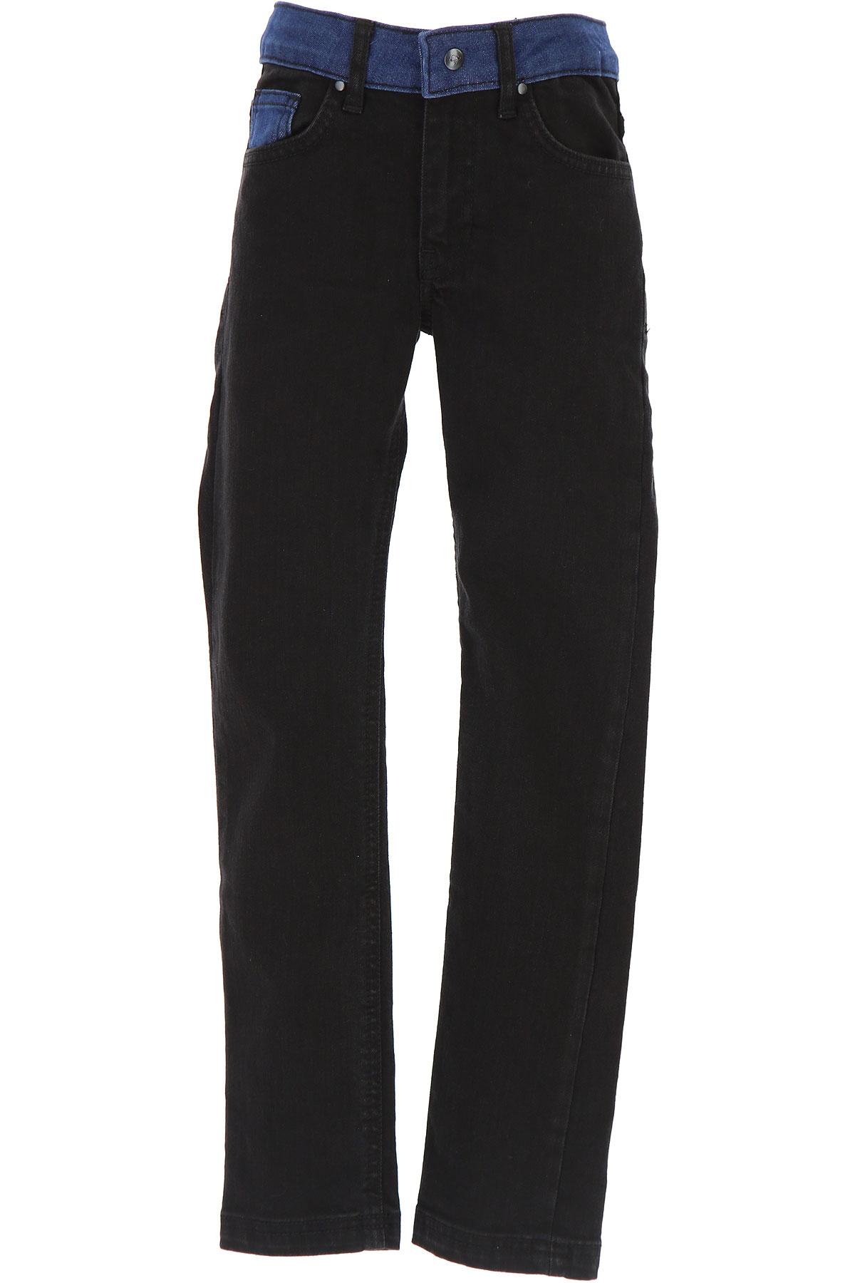 Image of Billybandit Kids Jeans for Boys, Black, Cotton, 2017, 2Y 4Y 5Y 6Y 8Y