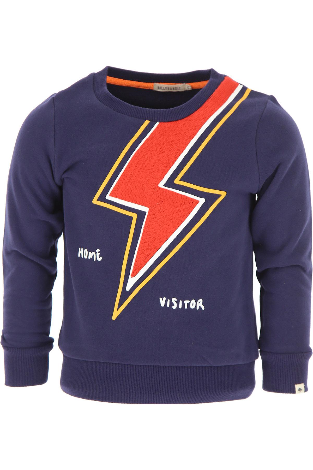 Image of Billybandit Kids Sweatshirts & Hoodies for Boys, Blue, Cotton, 2017, 10Y 2Y 3Y 4Y 5Y 6Y 8Y
