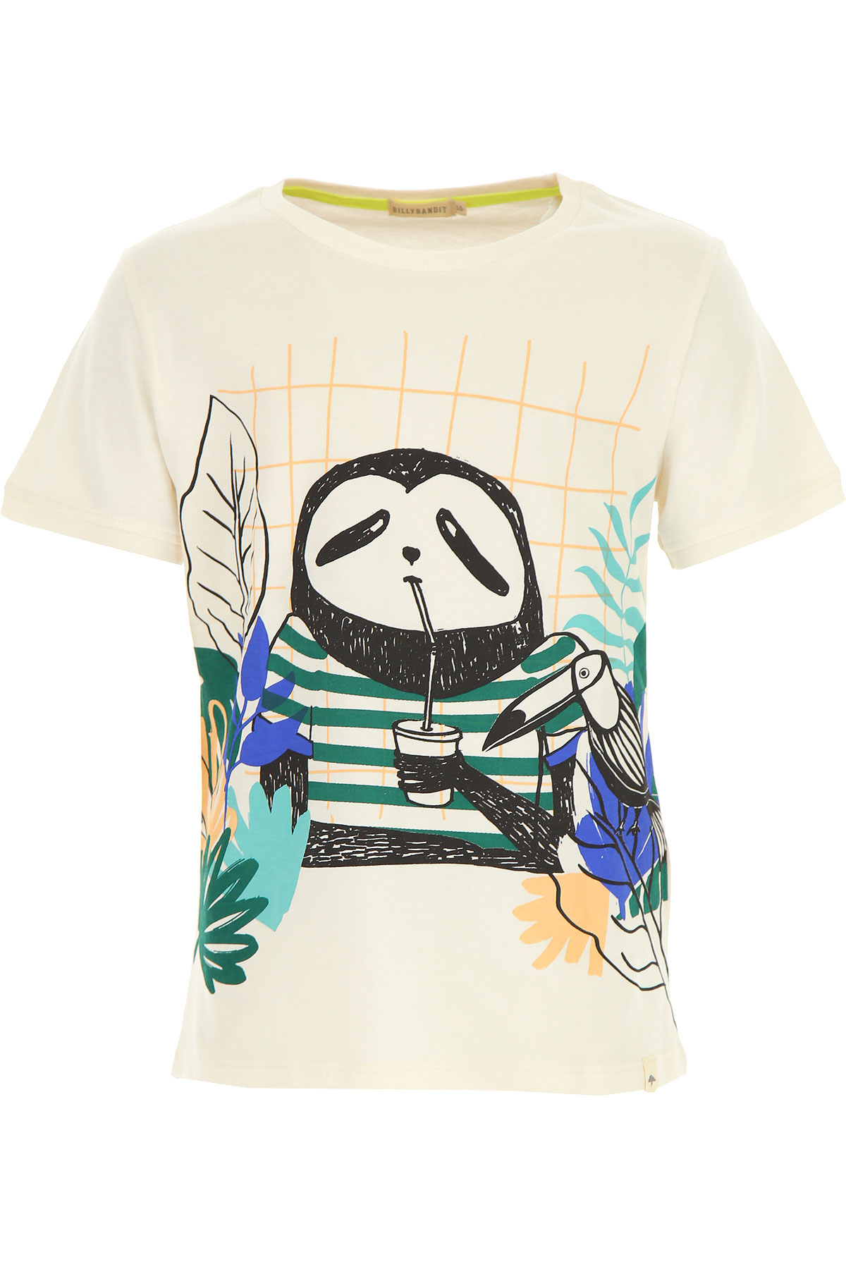Billybandit Kids T-Shirt for Boys On Sale in Outlet, White, Cotton, 2019, 2Y 4Y