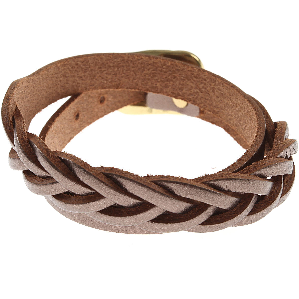 Image of Il Bisonte Bracelet for Women, Bronze, Leather, 2017